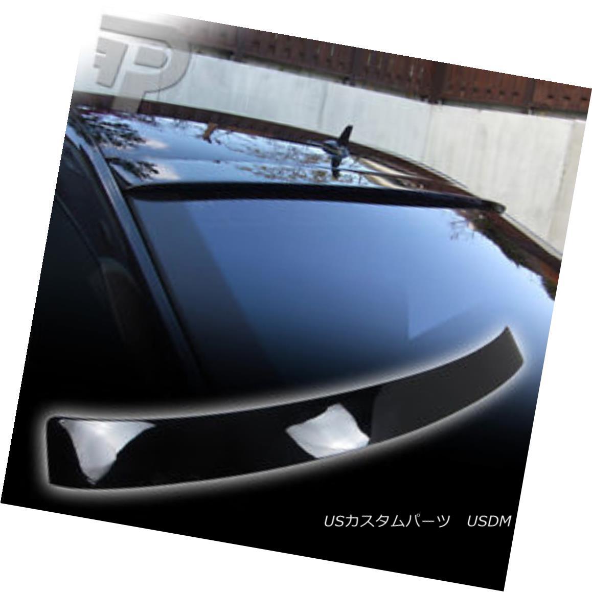 エアロパーツ PAINTED Mercedes BENZ W221 L TYPE REAR ROOF SPOILER WING 040 BLACK ▼ 塗装されたメルセデスベンツW221 L型後部屋根スポイラーウイング040黒?