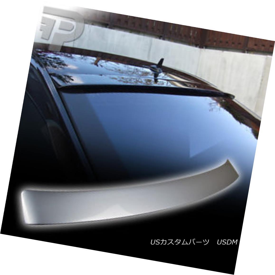 エアロパーツ PAINTED Mercedes BENZ W221 L ROOF REAR WING SPOILER #744 SILVER 塗装されたメルセデスベンツW221 Lルーフリアウイングスポイラー#744シルバー