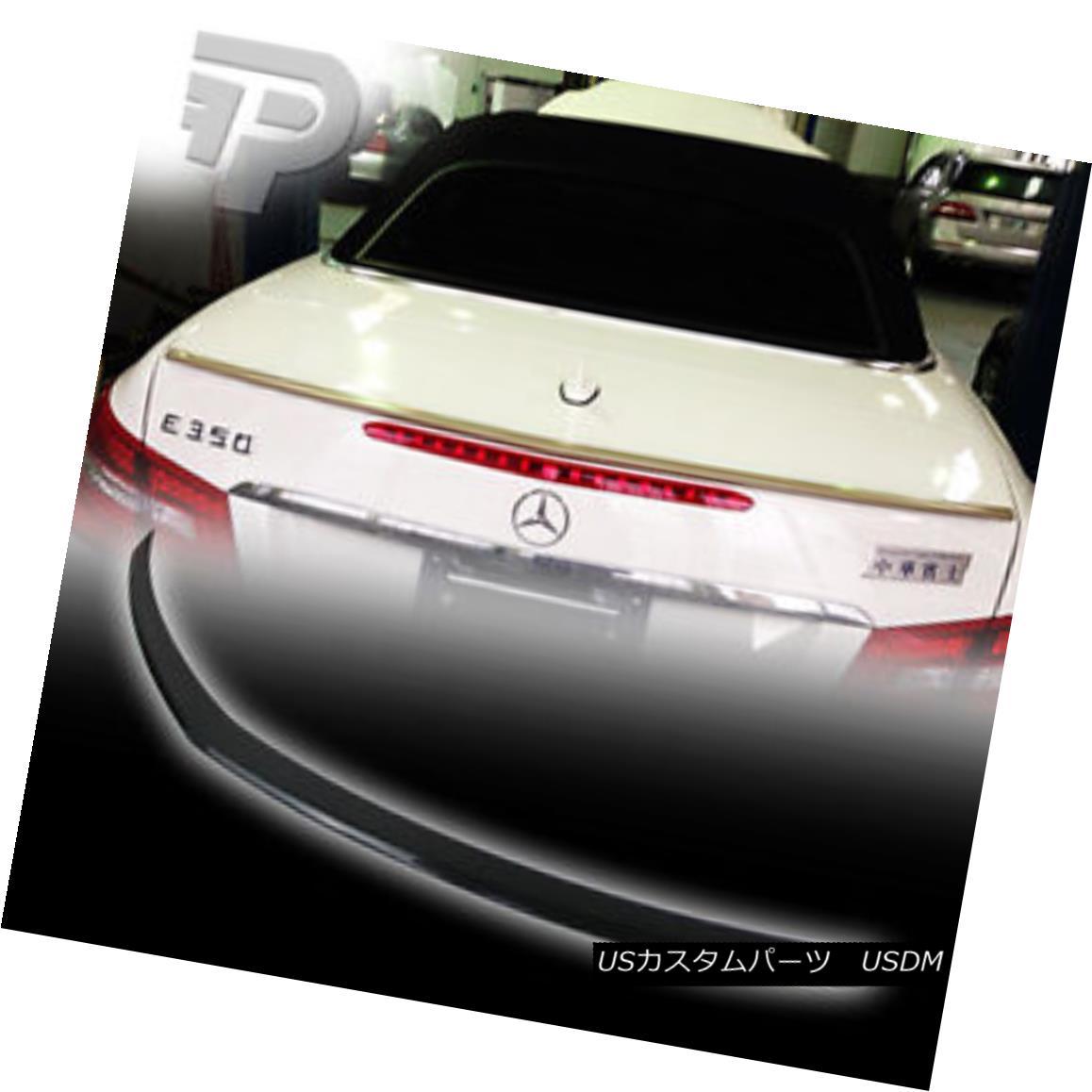 エアロパーツ PAINTED Mercedes BENZ C207 COUPE A TYPE TRUNK SPOILER REAR BOOT 197 BLACK ▼ ペイントされたメルセデスベンツC207カップリングAタイプのトランクスポイラーリアブーツ197ブラック?