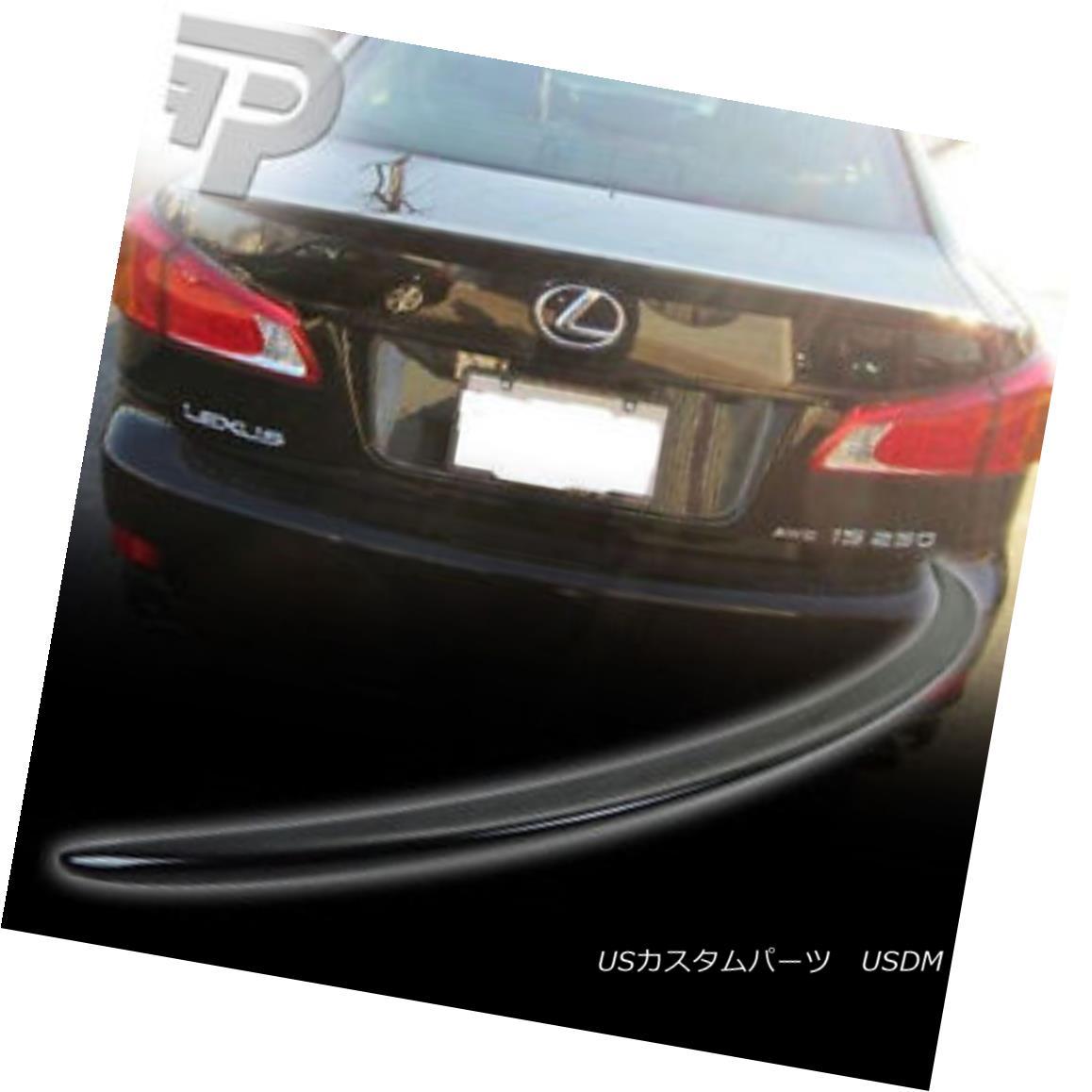 Spoiler for a Lexus IS300 Factory Style Spoiler-Black Paint Code 202