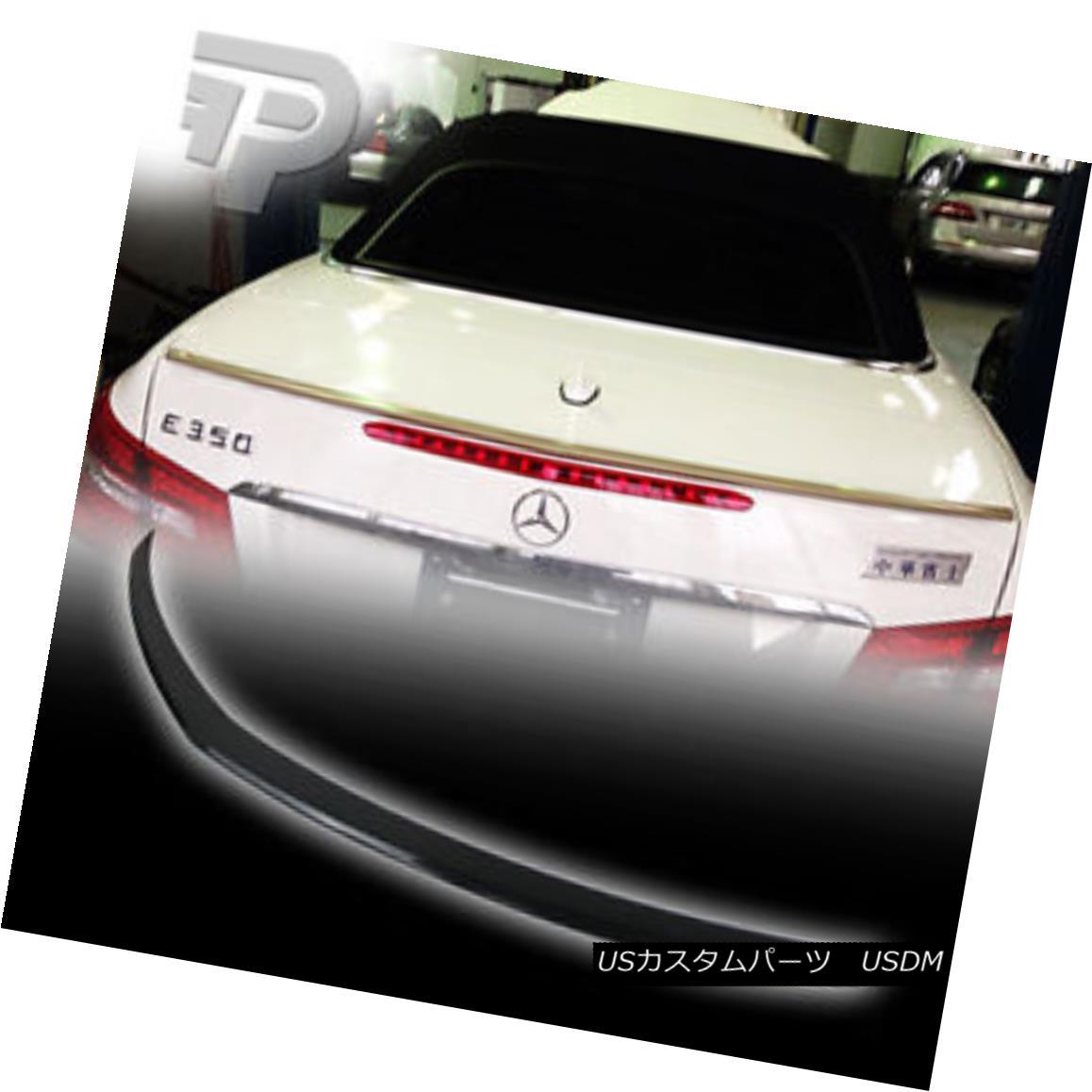 エアロパーツ PAINTED Mercedes BENZ C207 2D COUPE A TYPE TRUNK BOOT SPOILER REAR 040 BLACK ▼ ペイントされたメルセデスベンツC207 2DカップリングAタイプトランクブーツスポイラーリア040ブラック?