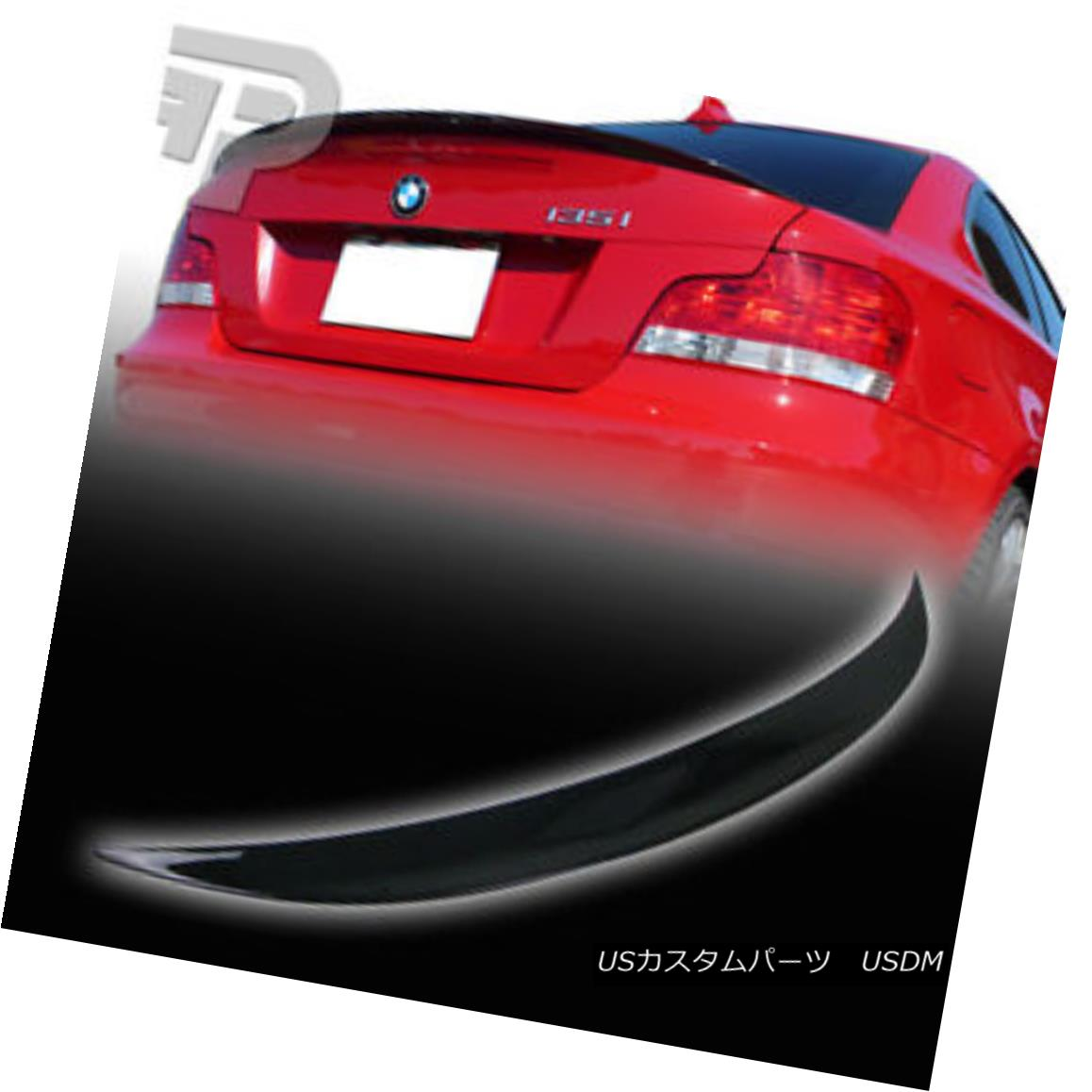 PAINTED 07-13 BMW E82 2DR 120d 125i 128i 135i Performance Trunk Boot Spoiler Lip