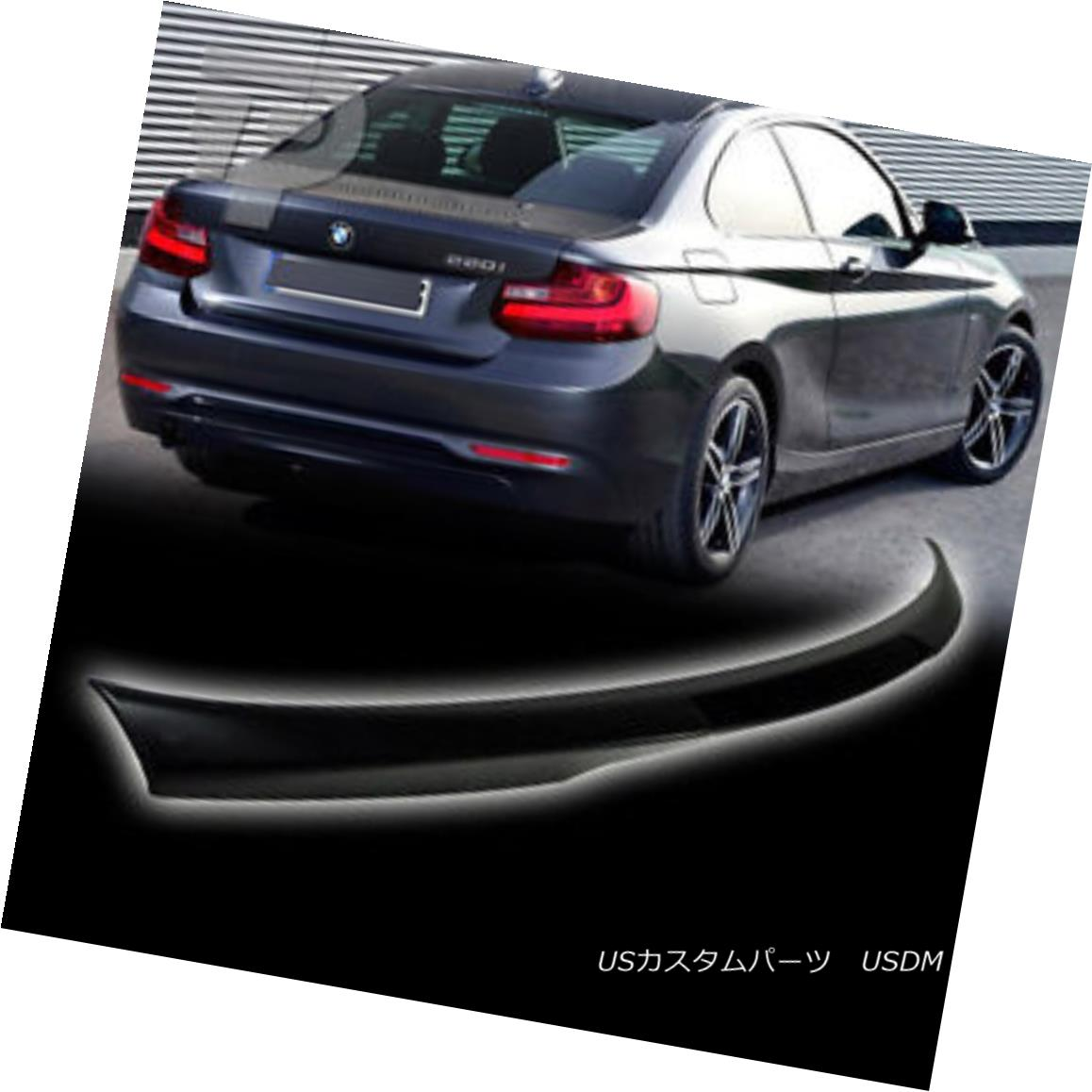 エアロパーツ Unpainted BMW 2-Series F22 2DR Coupe M4 Type Trunk Spoiler M235i 220i 220d 2016 未塗装BMW 2シリーズF22 2DRクーペM4タイプトランク・スポイラーM235i 220i 220d 2016