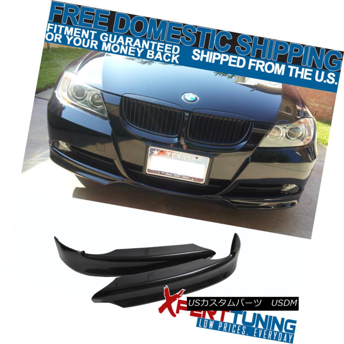 2021年春の エアロパーツ 06 3 07 CF 08 BMW 3 Splitter Series E90 OE Style Carbon Fiber CF Front Splitter Lip 06 07 08 BMW 3シリーズE90 OEスタイルカーボンファイバーCFフロントスプリッターリップ, 激安PCショップ:59a83886 --- esef.localized.me