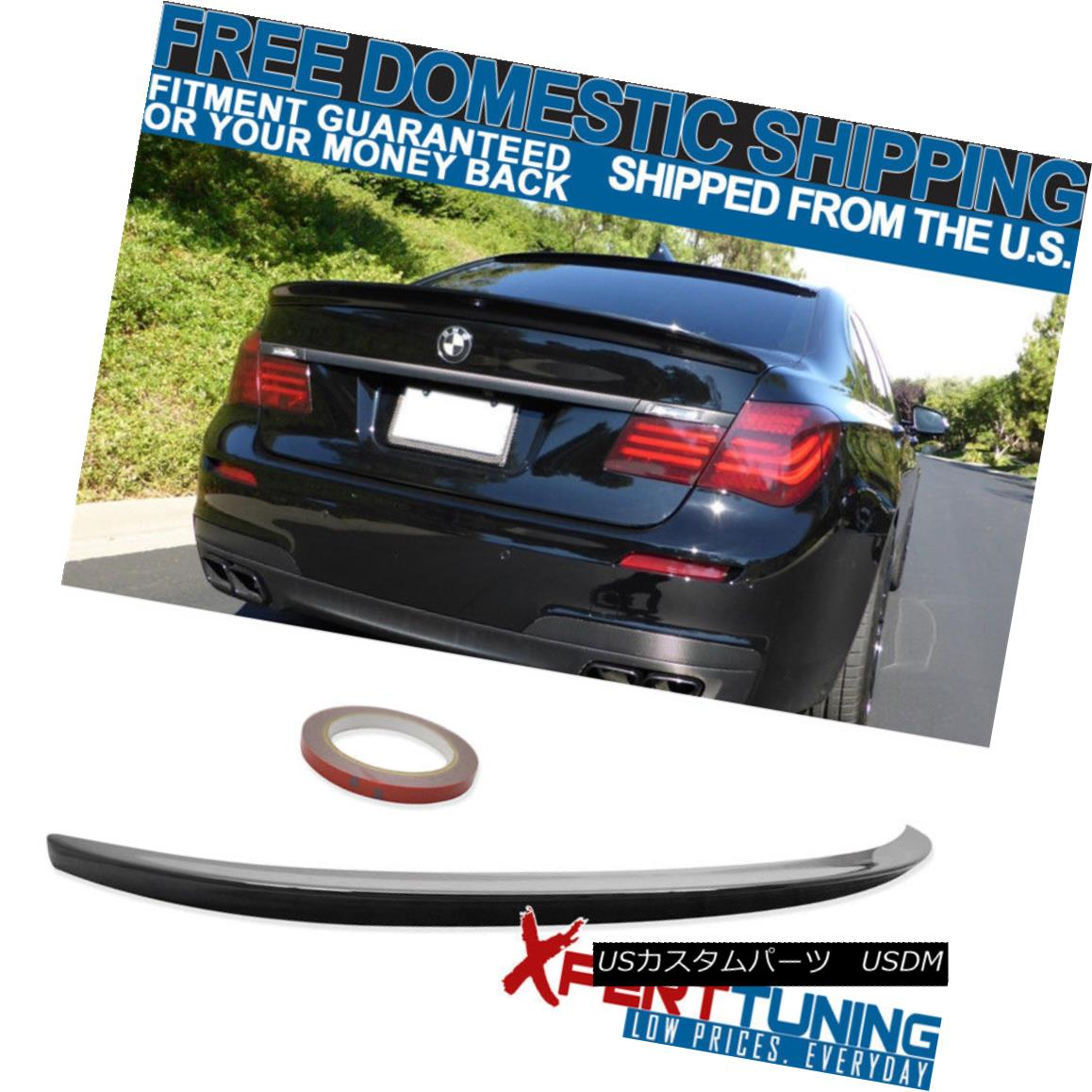 エアロパーツ FIT 09-15 BMW 7 Series F01 AC Trunk Spoiler Painted Black Sapphire Metallic #475 FIT 09-15 BMW 7シリーズF01 ACトランク・スポイラー・ブラック・サファイア・メタリック#475
