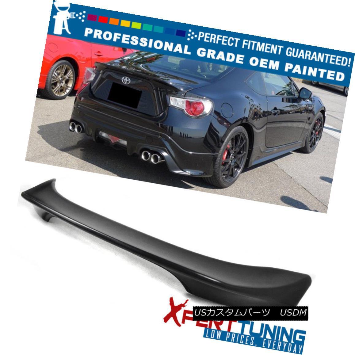 エアロパーツ Fits 12-15 Scion FRS GT86 TR-D Style Painted Trunk Spoiler - OEM Painted Color サイエンスFRS GT86 TR-Dスタイル塗装トランク・スポイラー - OEM塗装カラー