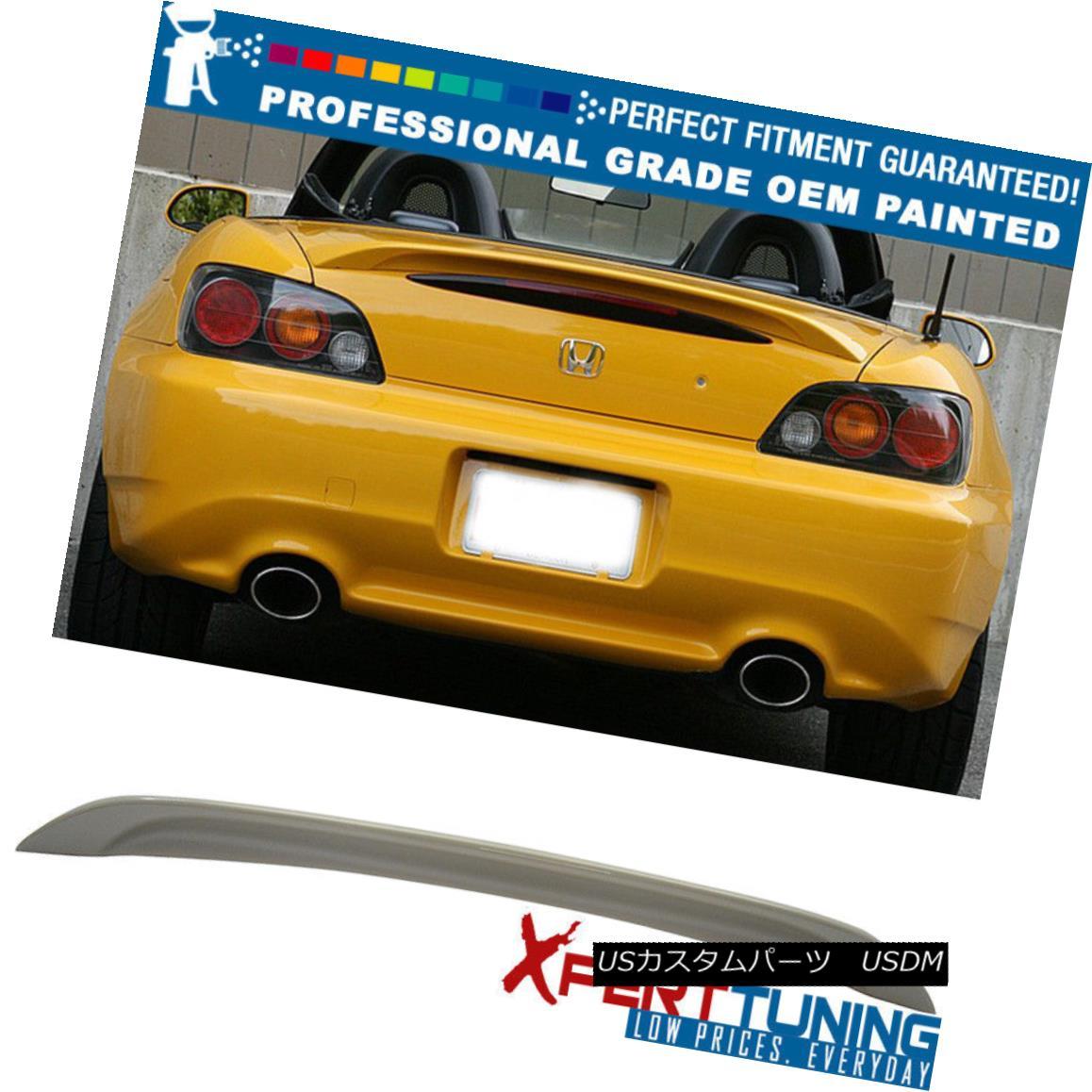 エアロパーツ 00-09 Honda S2000 2Dr AP1 AP2 OE Painted ABS Trunk Spoiler - OEM Painted Color 00-09ホンダS2000 2Dr AP1 AP2 OE塗装ABSトランク・スポイラー - OEM塗装色