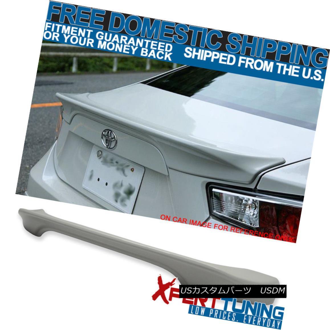 エアロパーツ For Subaru BRZ 15-17 TR Trunk Spoiler Wing Painted Crystal White Pearl #K1X スバルBRZ 15-17 TRトランク・スポイラー・ウイング・クリスタル・ホワイト・パール#K1X