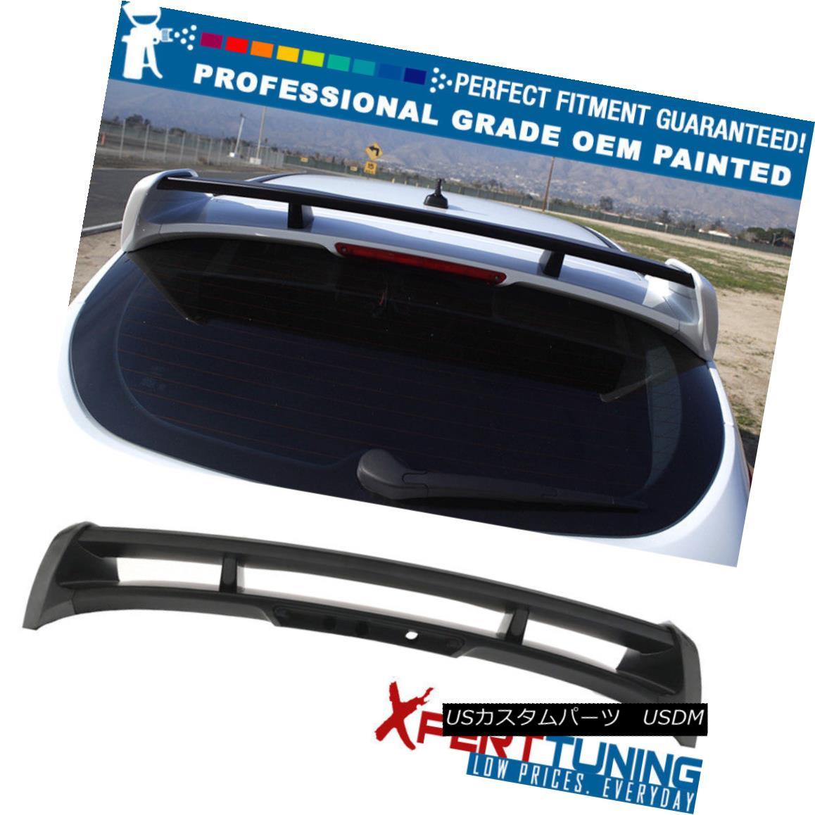 エアロパーツ Fits 12-18 Ford Focus Hatchback 5Dr RS Style Roof Spoiler - OEM Painted Color フィット12-18フォードフォーカスハッチバック5Dr RSスタイル屋根スポイラー - OEM塗装色