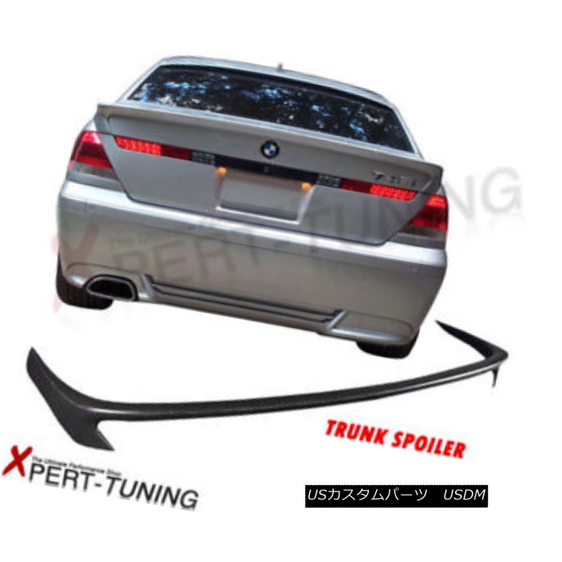 <title>車用品 バイク用品 >> パーツ 外装 エアロパーツ リアスポイラー 02-05 BMW E65 7-Series 745i 760i AC-S PU Rear Trunk Lid 価格 交渉 送料無料 Spoiler Bodykit 7シリーズ745i PUリアトランクリッドスポイラーボディキット</title>