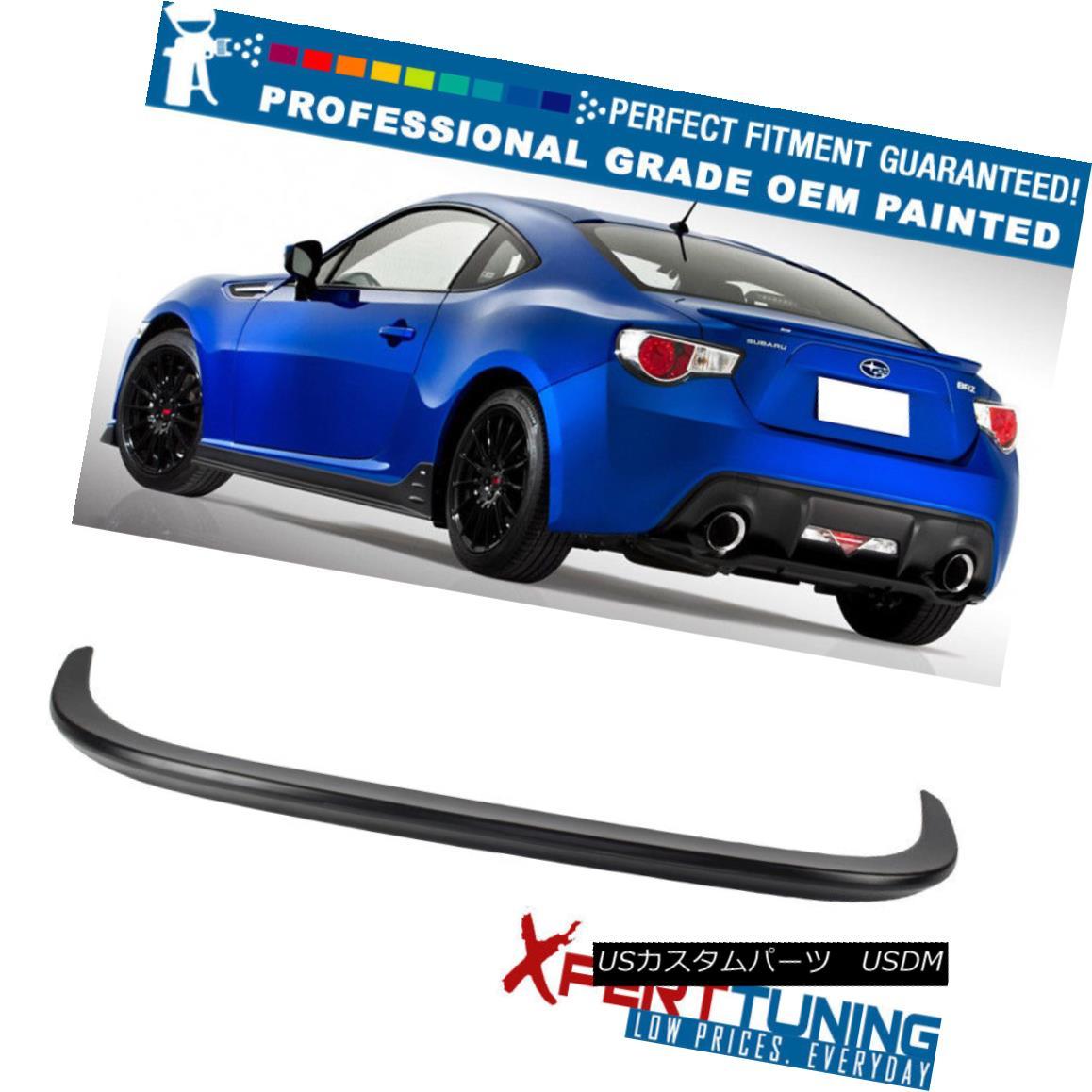 エアロパーツ Fits 13-17 Subaru BRZ Scion FRS GT86 STI JDM Trunk Spoiler - OEM Painted Color フィット13-17スバルBRZサイオンFRS GT86 STI JDMトランクスポイラー - OEM塗装カラー
