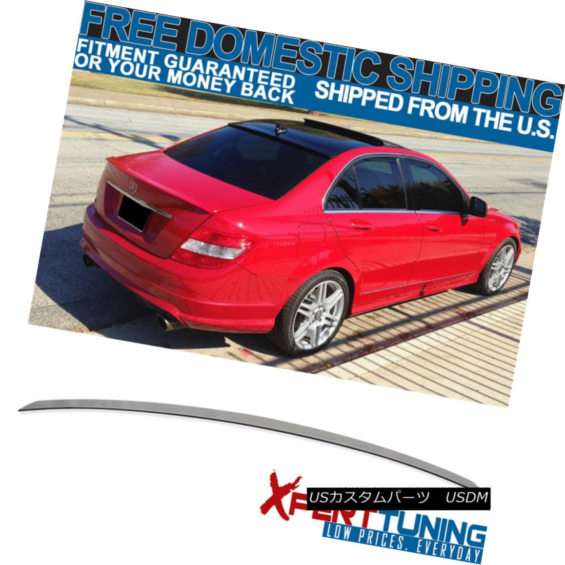 Fits 03-08 CLK-Class W209 Coupe AMG Painted Trunk Spoiler #723 Pewter Metallic