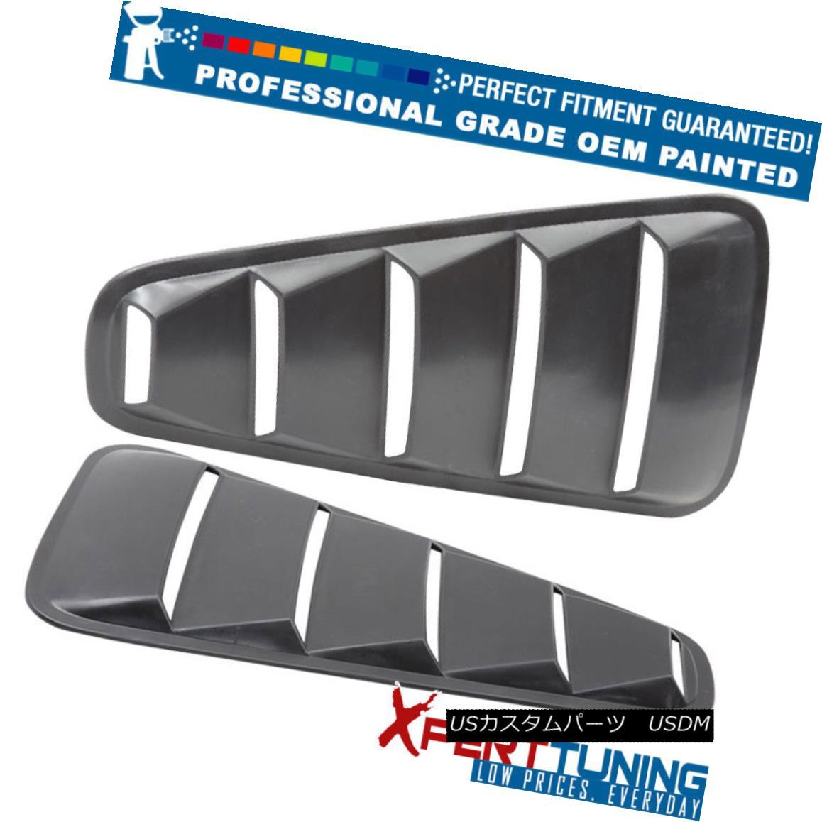 エアロパーツ 05-09 Ford Mustang OE Style Painted PP Window Louver Visor - OEM Painted Color 05-09フォードマスタングOEスタイルのペイントPPウィンドウルーバーバイザー - OEM塗装カラー