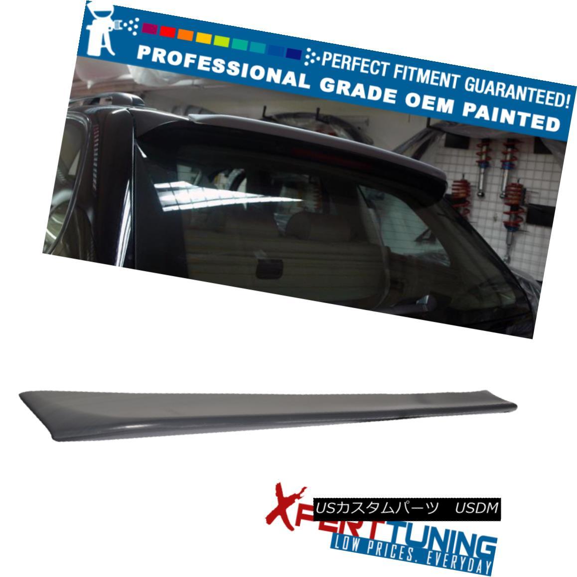 エアロパーツ 00-06 BMW E53 X5 SUV EURO Style Painted ABS Trunk Spoiler - OEM Painted Color 00-06 BMW E53 X5 SUVユーロスタイル塗装ABSトランクスポイラー - OEM塗装カラー