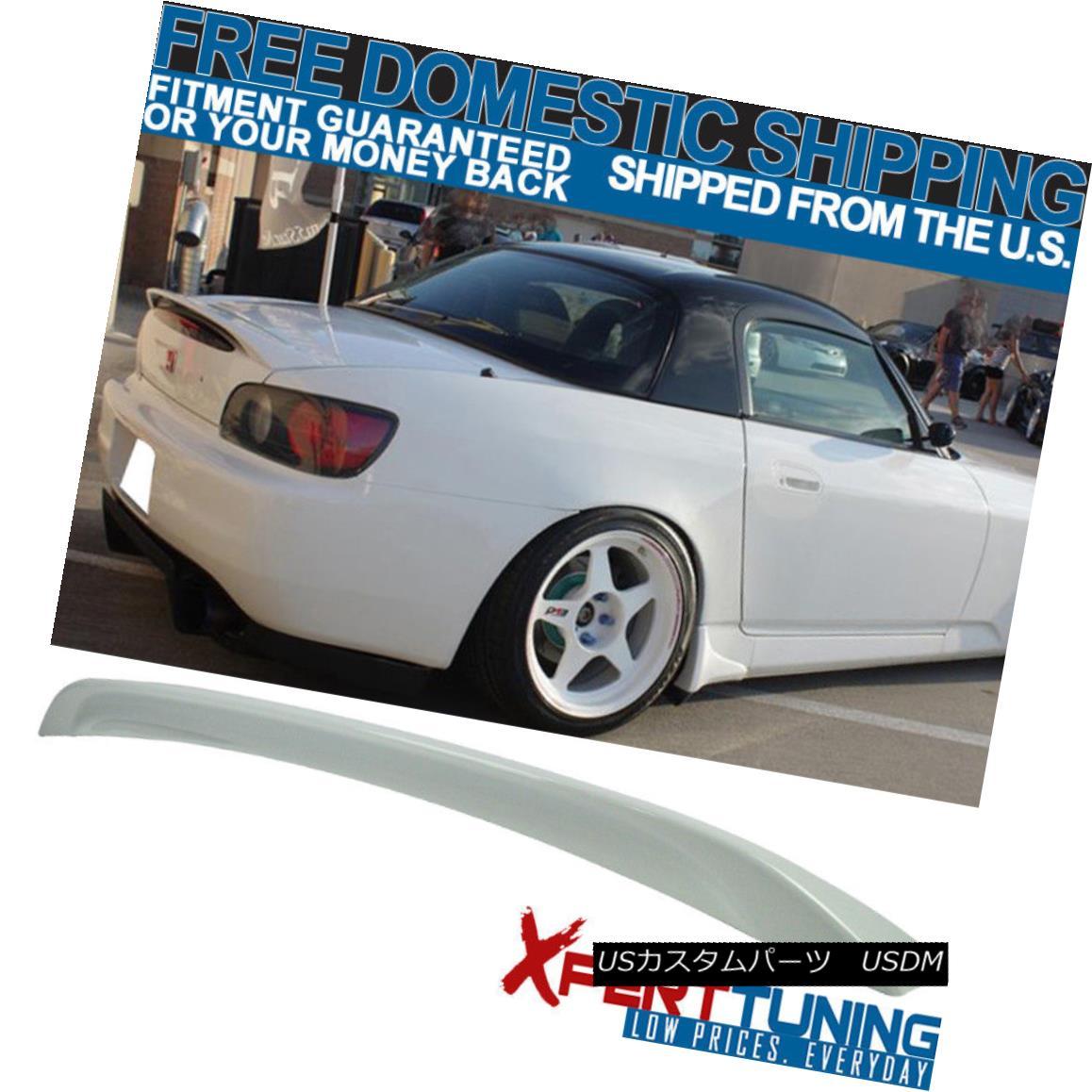 エアロパーツ 04 S2000 2Dr AP2 ABS Trunk Spoiler Painted Taffeta White # NH578 - ABS 04 S2000 2Dr AP2 ABSトランクスポイラー塗装タフタ白#NH578 - ABS