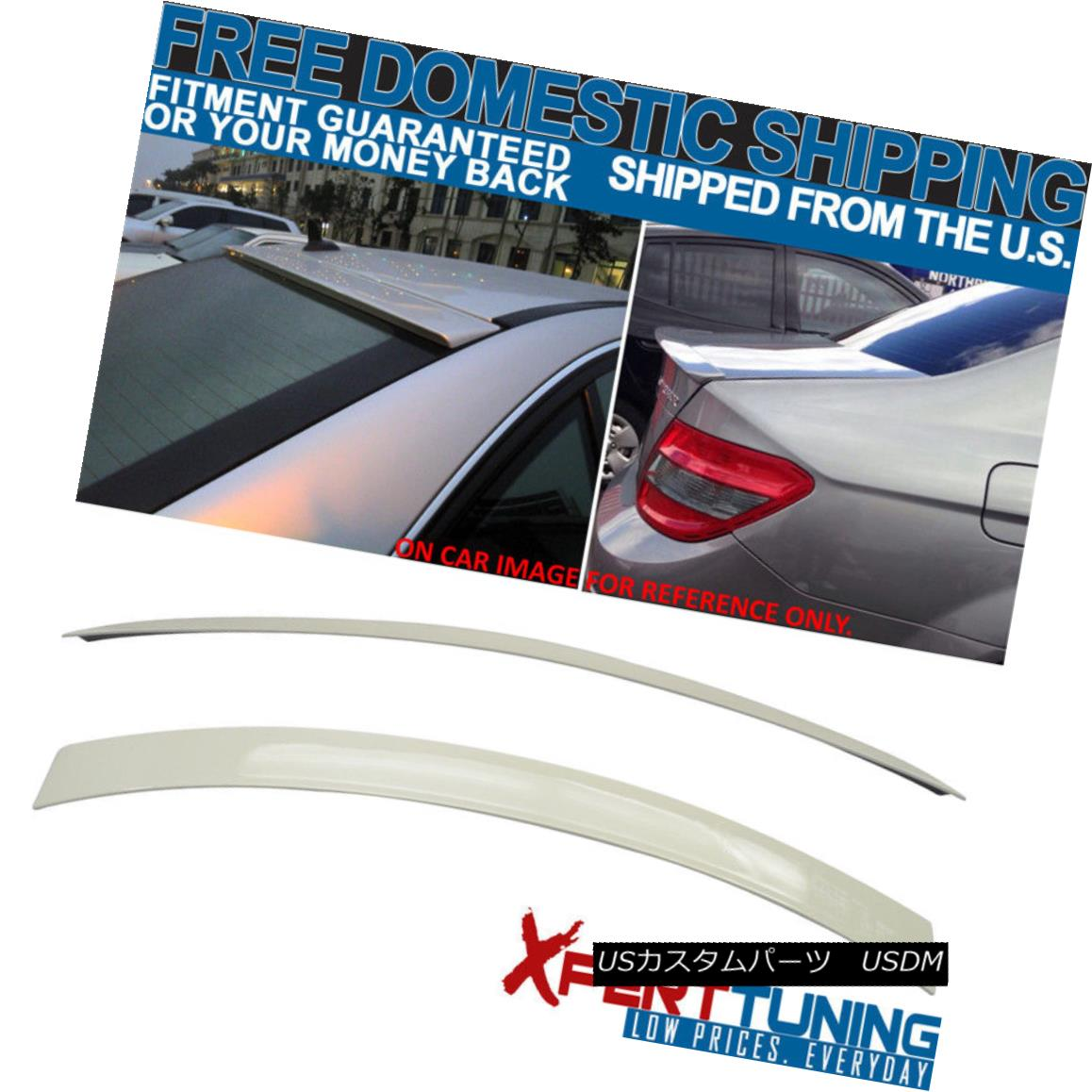 WellVisors For 08-14 Mercedes Benz W204 C-Class 4Dr Side Window Visors Deflector