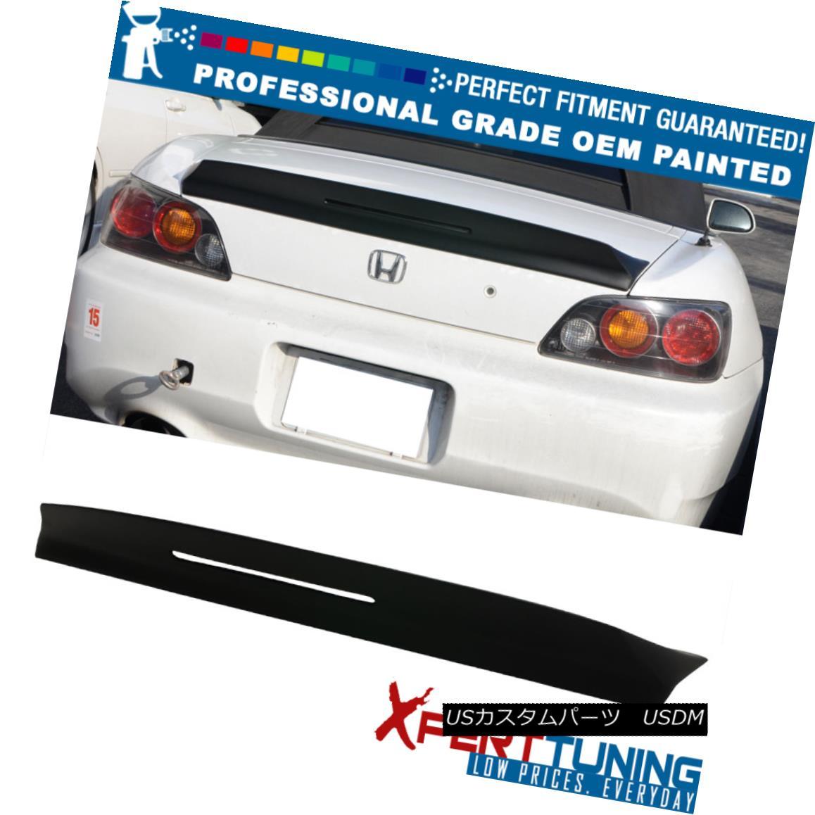 エアロパーツ 00-09 Honda S2000 AP1 AP2 TM Style Painted Trunk Spoiler - OEM Painted Color 00-09ホンダS2000 AP1 AP2 TMスタイル塗装トランクスポイラー - OEM塗装カラー