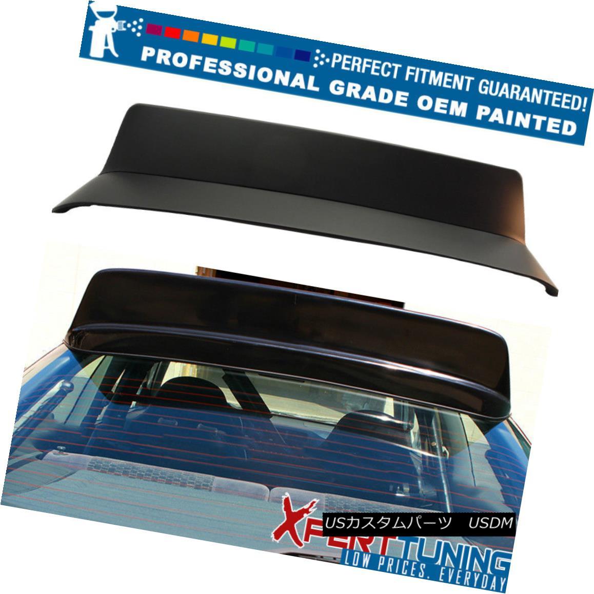 エアロパーツ 96-00 Honda Civic 3Dr HB Hatchback BYS Style Roof Spoiler - OEM Painted Color 96-00ホンダシビック3Dr HBハッチバックBYSスタイルルーフスポイラー - OEM塗装カラー