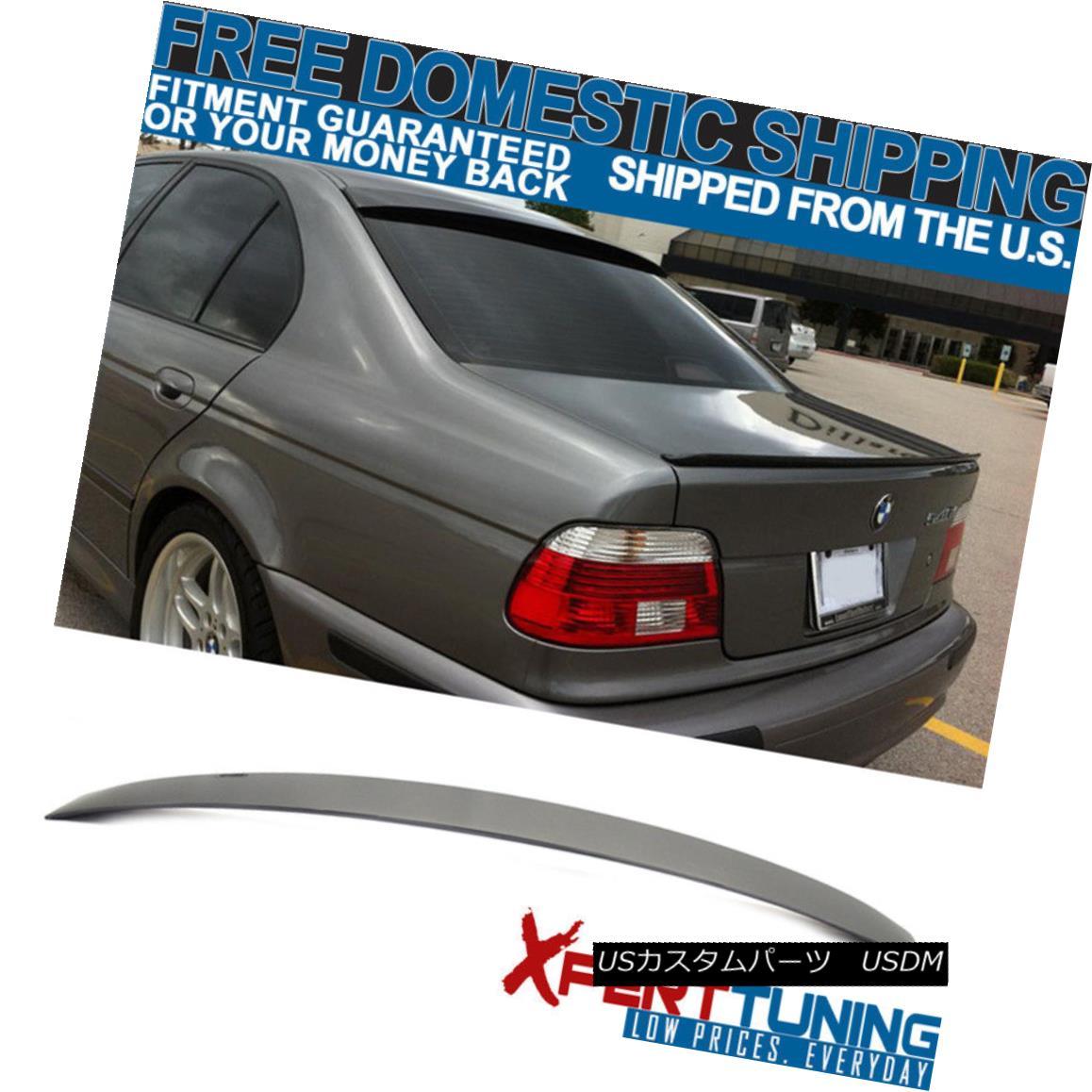 エアロパーツ 97 98 99 00 01 02 03 BMW E39 5-Series M5 AC Style Unpainted Roof Spoiler - ABS 97 98 99 00 01 02 03 BMW E39 5シリーズM5 ACスタイル無塗装ルーフスポイラー - ABS