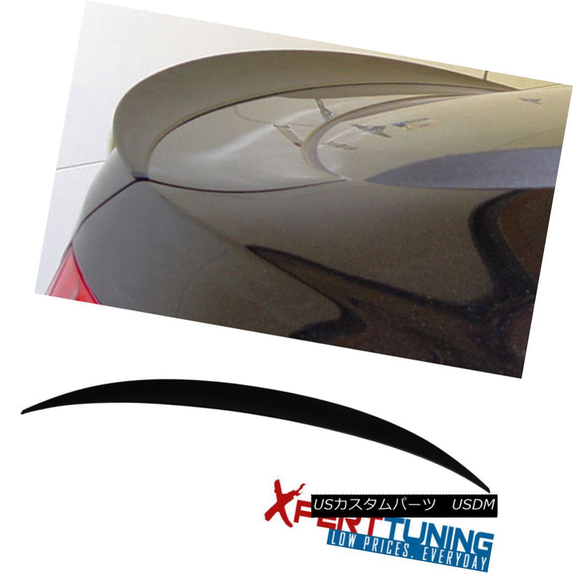 エアロパーツ Fit For 2008-2014 BMW E71 X6 SUV P Style Unpainted ABS Trunk Spoiler 2008-2014年に合うBMW E71 X6 SUV Pスタイル無塗装ABSトランク・スポイラー