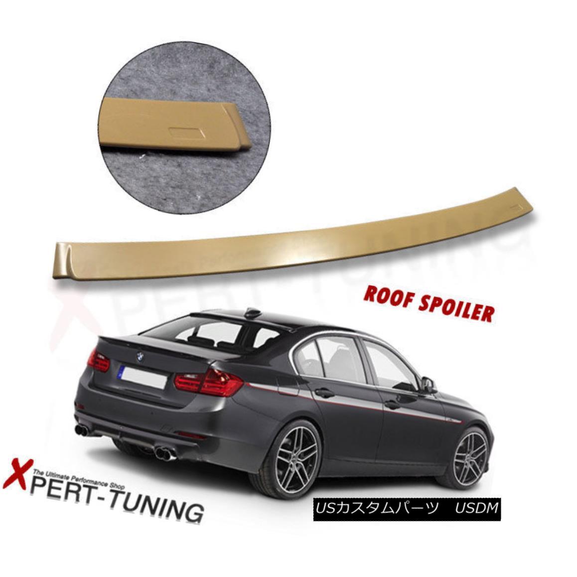Fits BMW F30 12-18 3 Series 320i 328i 335i 4Dr Sedan ABS Trunk Spoiler Wing