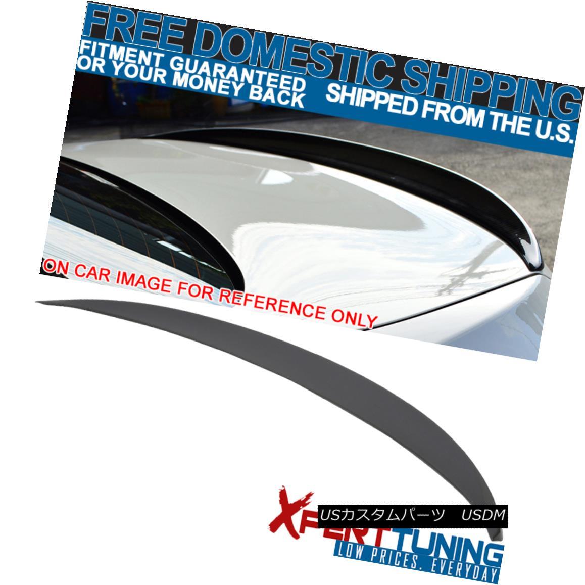 エアロパーツ Open Box Fits 11-16 F10 Sedan Performance Painted B39 Mineral Gray Trunk Spoiler オープンボックスが11-16 F10セダンの性能を塗装B39ミネラルグレーのトランク・スポイラー