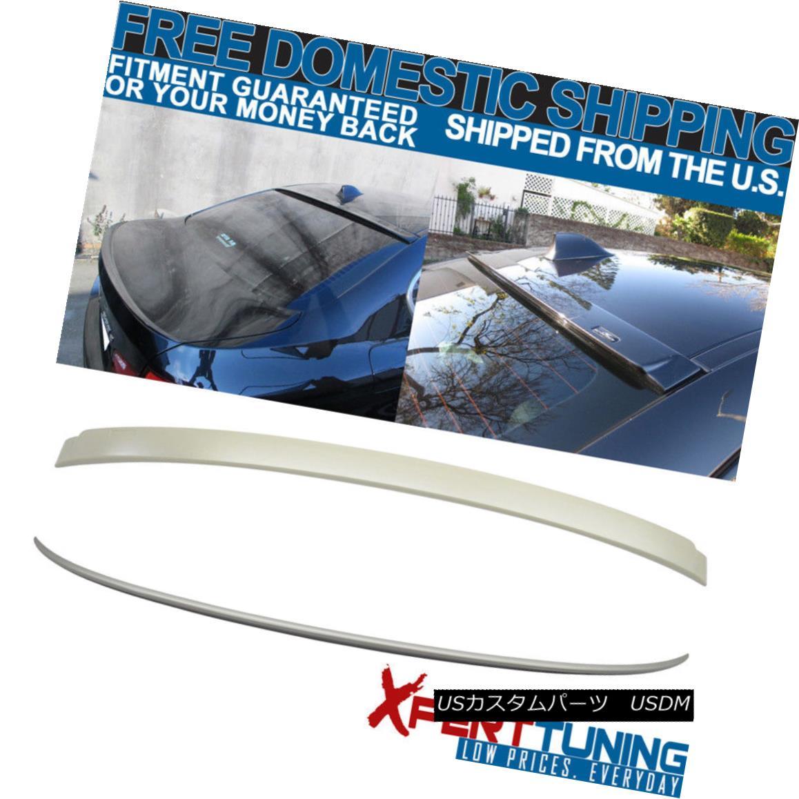 エアロパーツ 11 12 13 14 15 16 BMW F10 5Series 4Dr M5 Style Trunk + AC Roof Spoiler Unpainted 11 12 13 14 15 16 BMW F10 5Series 4Dr M5スタイルトランク+ ACルーフスポイラー未塗装