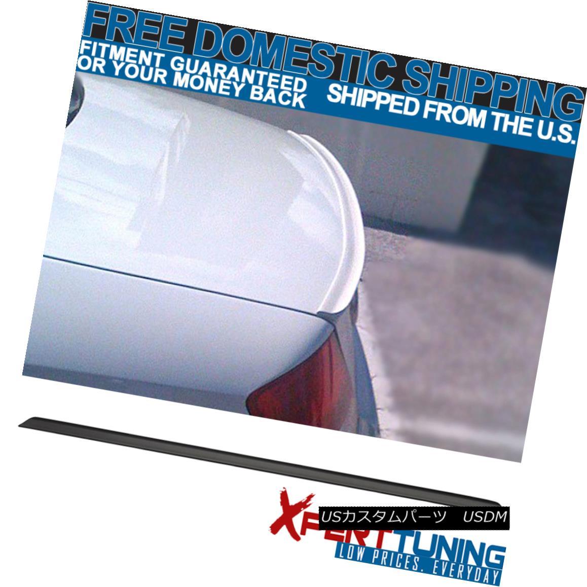 エアロパーツ 02 03 04 05 06 Acura RSX PV Style Unpainted Black Trunk Spoiler Lid Wing - PUF 02 03 04 05 06アキュラRSX PVスタイル未塗装ブラックトランク・スポイラーリッドウイング - PUF