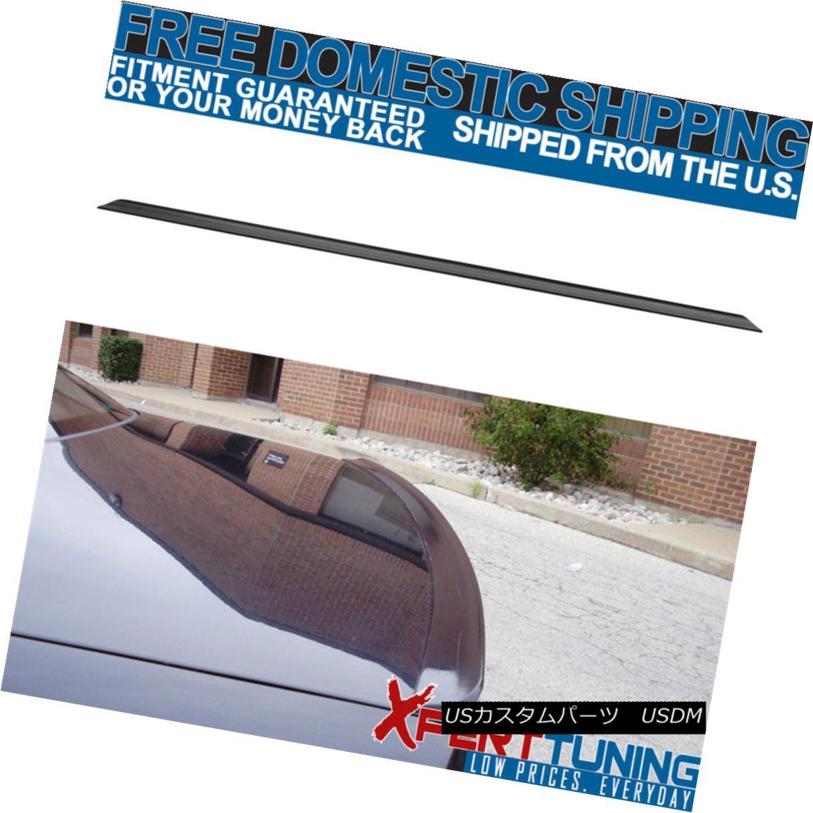 エアロパーツ 05 06 07 08 09 VW Passat B6 Mk6 4D 4Dr Sedan Trunk Spoiler Wing Lip Unpainted 05 06 07 08 09 VWパサートB6 Mk6 4D 4Drセダントランク・スポイラーウイング・リップ未塗装