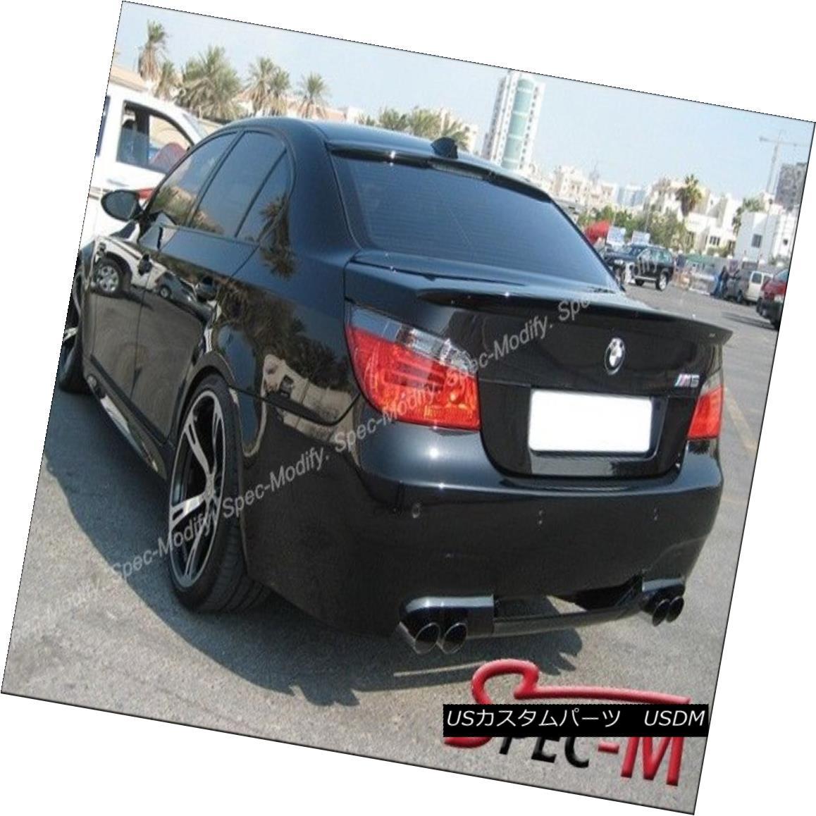 エアロパーツ Painted 475 Sap Black AC Type Trunk Spoiler Roof Wing BMW 2004-2010 535i 550i M5 塗装済み475 Sap Black ACタイプトランク・スポイラールーフウィングBMW 2004-2010 535i 550i M5