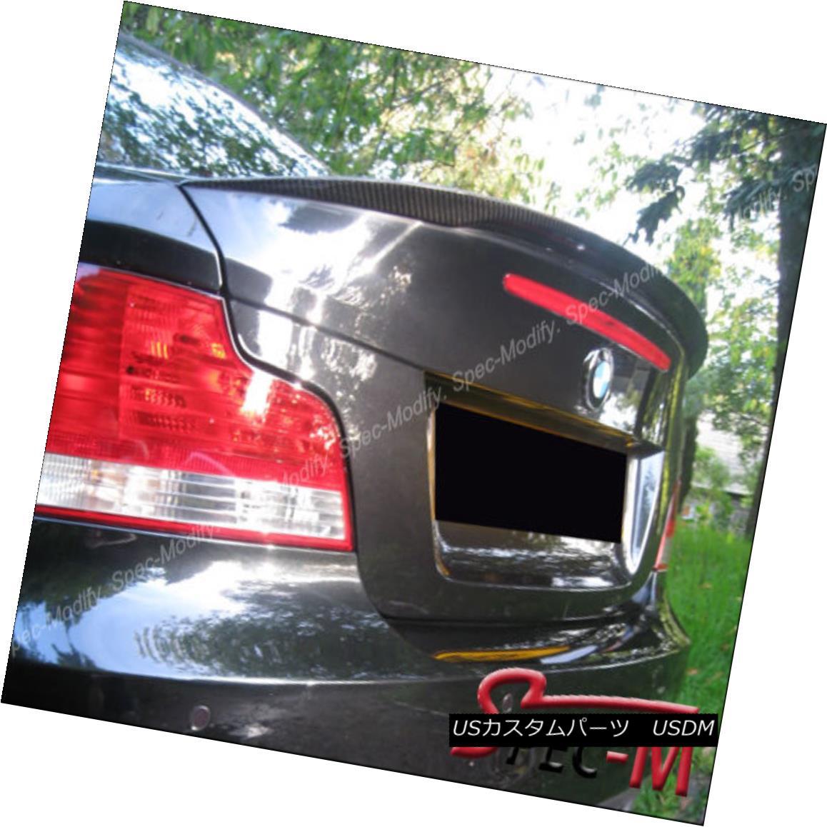 車用品 バイク用品 >> パーツ 外装 エアロパーツ その他 Carbon Fiber Performance Trunk Wing Coupe 超激安 正規認証品!新規格 128i 1Mクーペ E82用炭素繊維性能トランクウイングスポイラー118i 118i 135i E82 For Spoiler 1M BMW