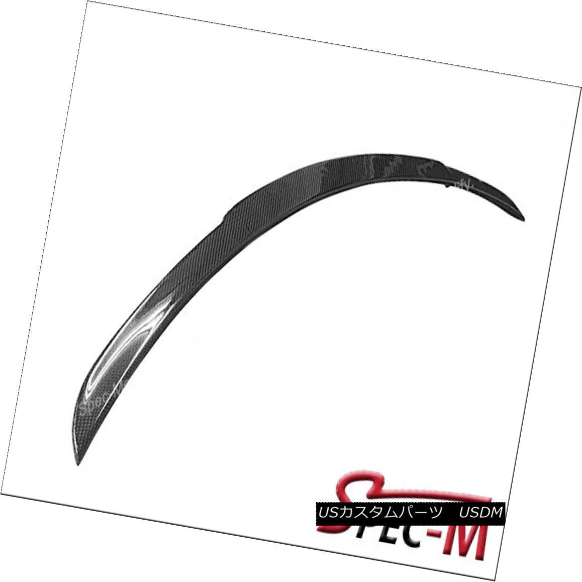 エアロパーツ 2015+ W205 C250 C300 C400 C450 BS Style Carbon Fiber Trunk Spoiler 2015+ W205 C250 C300 C400 C450 BSスタイル炭素繊維トランク・スポイラー