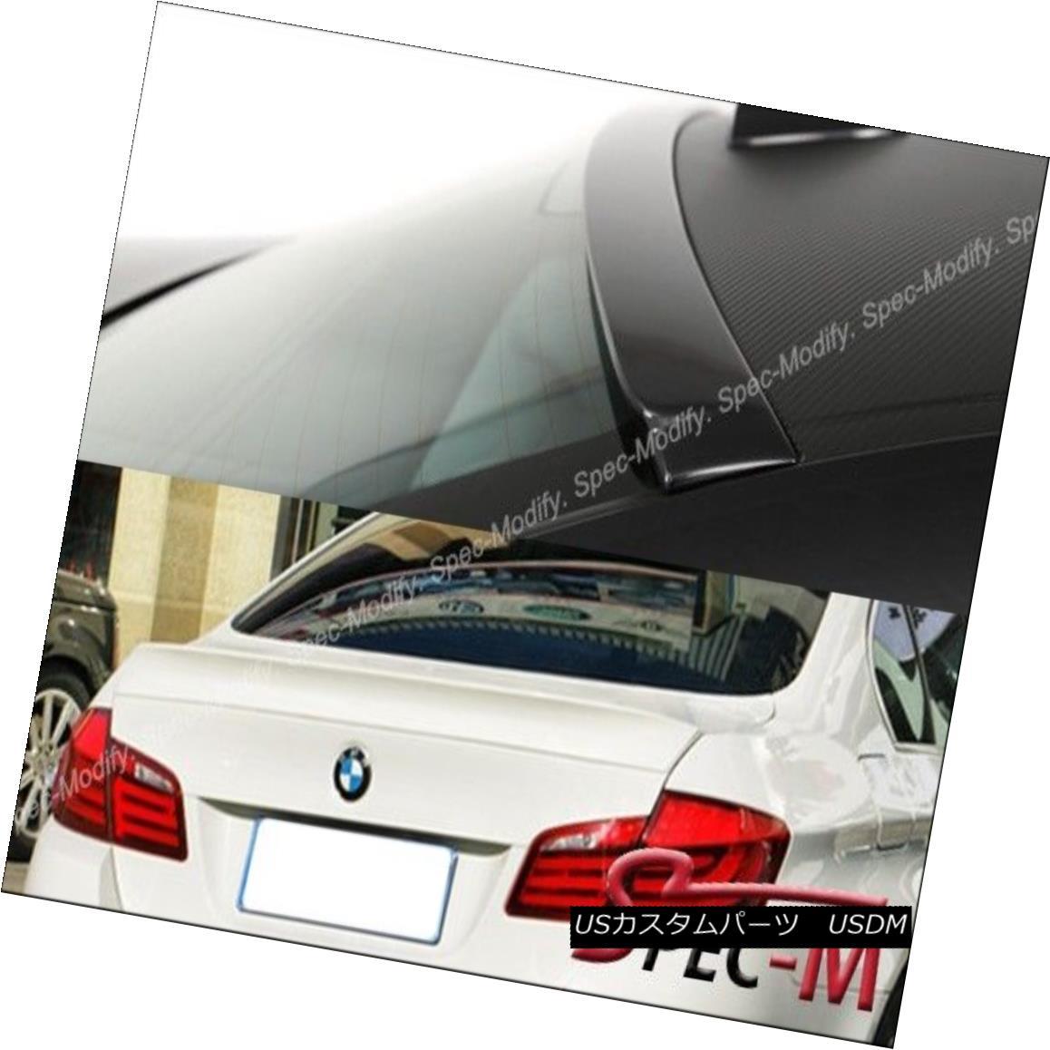 エアロパーツ Painted AC Style Trunk Lip Roof Spoiler Wing For BMW 2011+ F10 528i 535i 550i M5 BMW 2011+ F10 528i 535i 550i M5用塗装ACスタイルトランクリップルーフスポイラーウィング