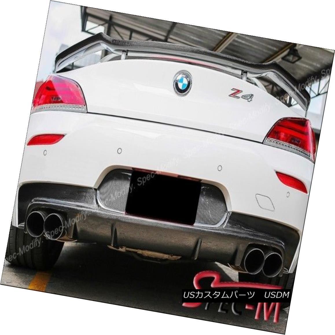エアロパーツ CARBON FIBER ROWEN STYLE REAR TRUNK SPOILER WING FIT 2009+ BMW E89 Z4 カーボンファイバーローエンスタイルリアトランクスポイラーウィングフィット2009+ BMW E89 Z4