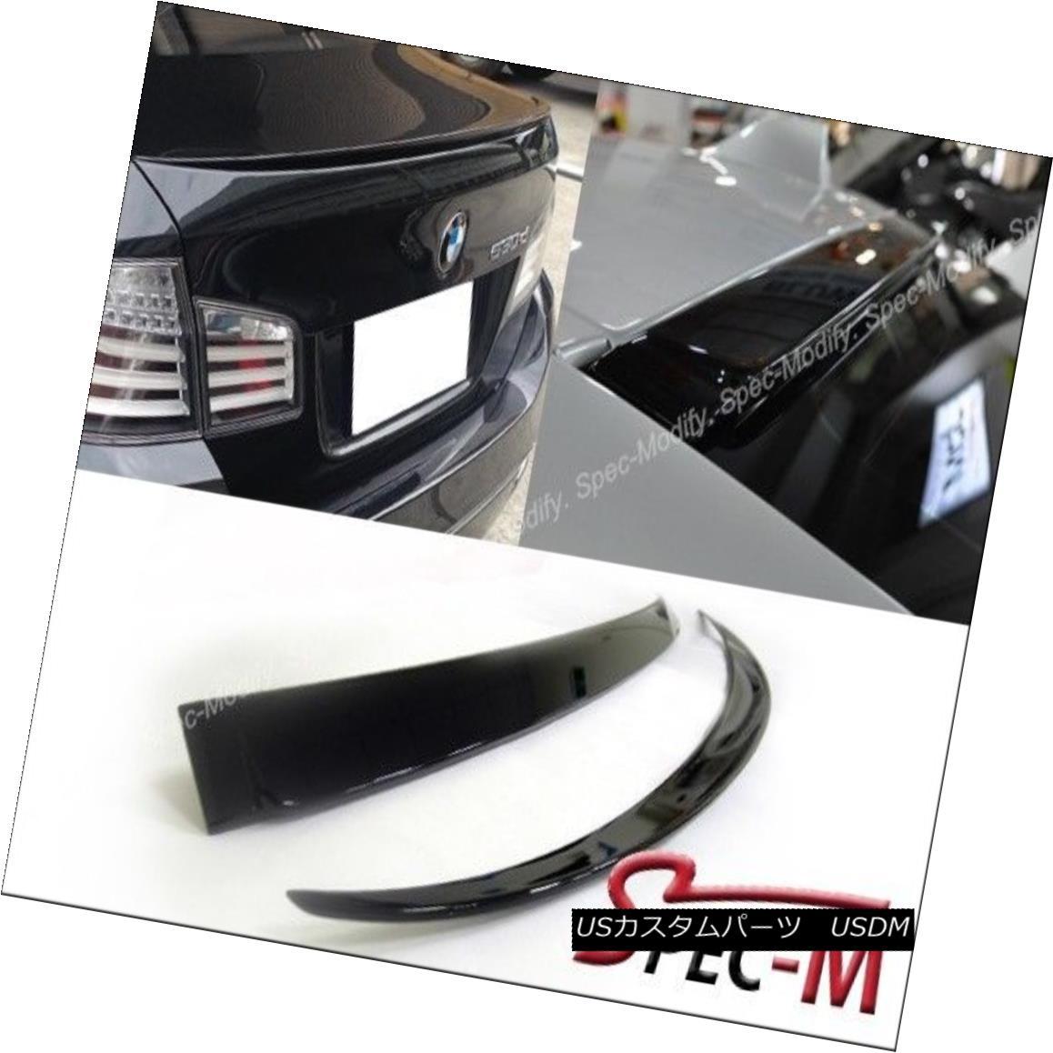 エアロパーツ Painted M5 Trunk Spoiler + AC Look Roof Lip For BMW 2011+ F10 528i 535i 550i 塗装済みM5トランク・スポイラー+ ACルック・リップ・フォー・BMW 2011+ F10 528i 535i 550i