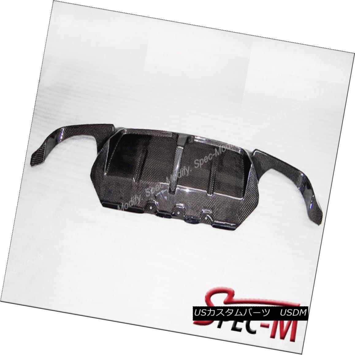 エアロパーツ 12-15 BMW F10 5 Series M5 Only 3D Style Carbon Fiber Rear Bumper CF Diffuser 12-15 BMW F10 5シリーズM5 3DスタイルカーボンファイバーリアバンパーCFディフューザー
