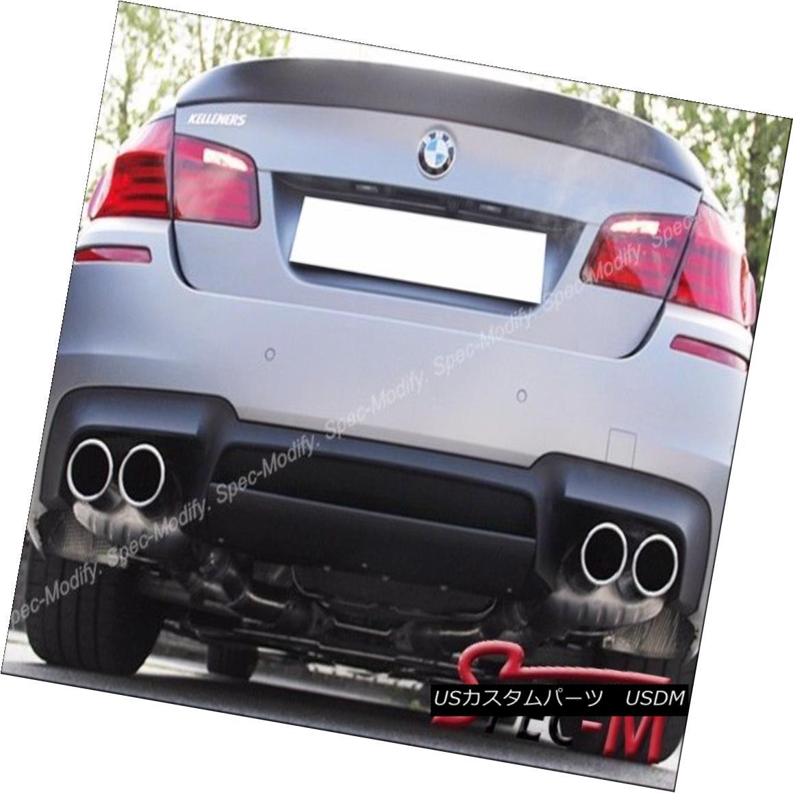 エアロパーツ RZ Style Carbon Fiber Rear Bumper Lip Diffuser for 12-16 BMW F10 M5 Only RZスタイルカーボンファイバーリアバンパーリップディフューザー12-16 BMW F10 M5のみ