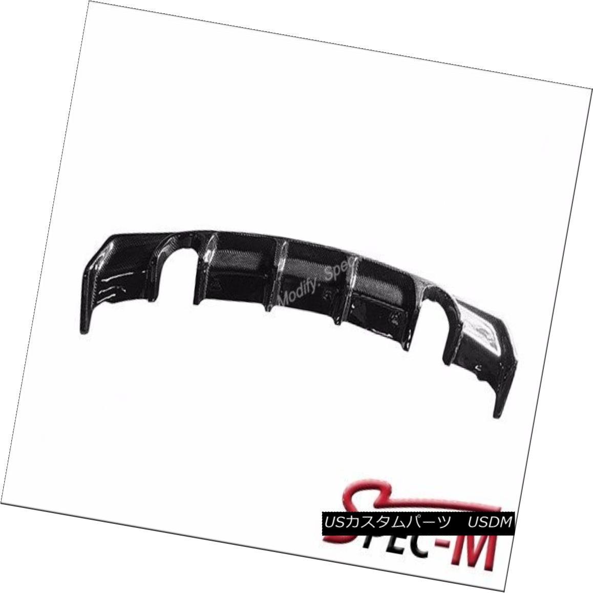 エアロパーツ For 12-15 F30 F31 335i M Sports AK Style Carbon Fiber Rear Lip Diffuser CF 12-15 F30 F31 335i MスポーツAKスタイルカーボンファイバーリアーリップディフューザーCF