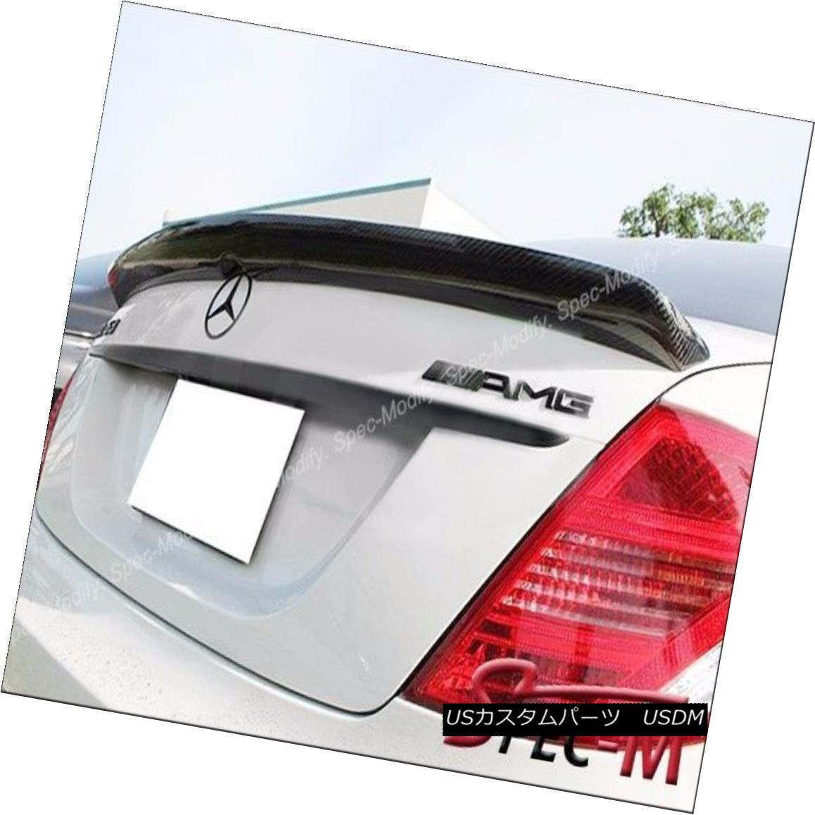エアロパーツ DP Carbon Fiber Trunk Lip Spoiler For 2007-2013 W216 CL500 CL550 CL63 CL65 AMG DPカーボンファイバートランクリップスポイラー2007-2013 W216 CL500 CL550 CL63 CL65 AMG