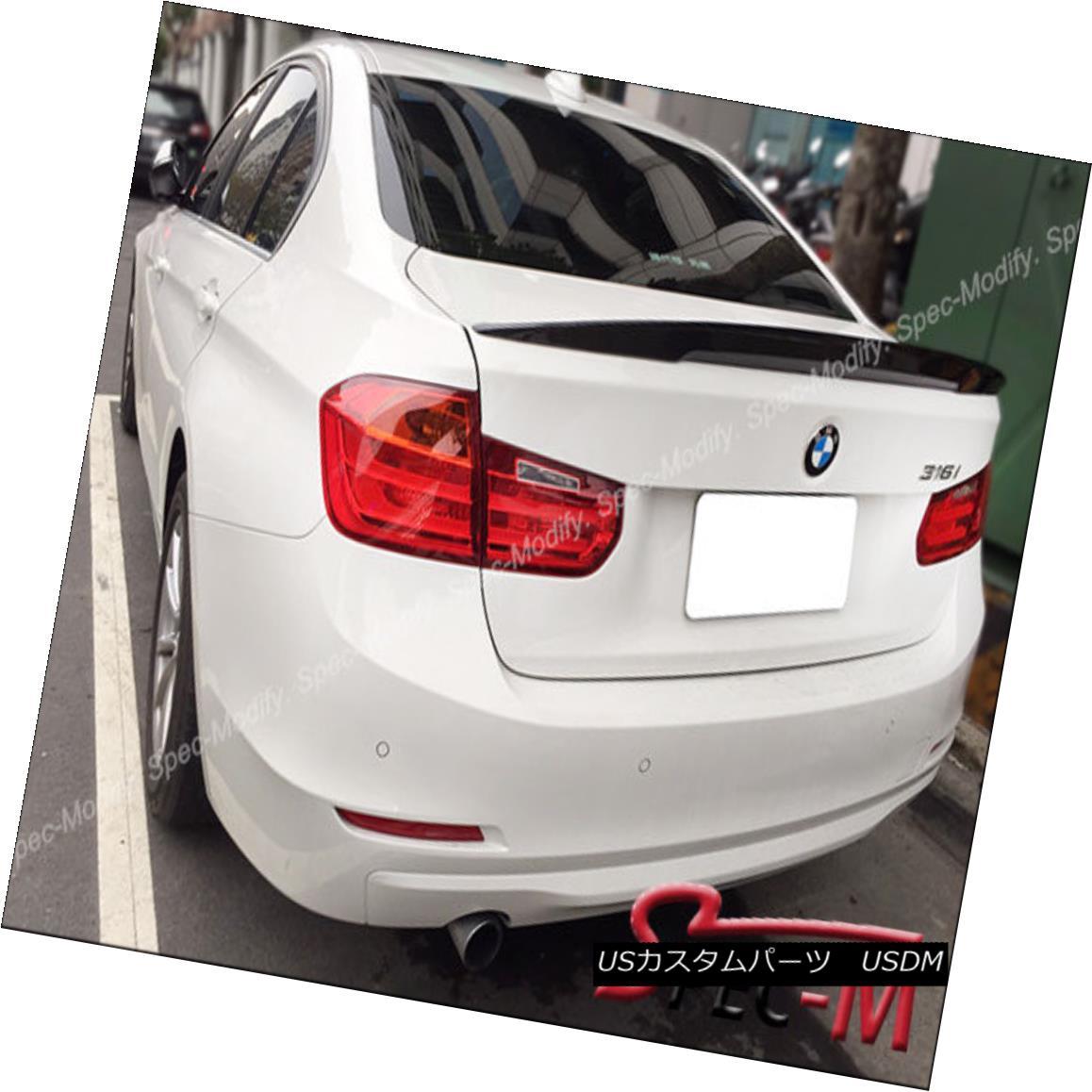 エアロパーツ High Kick Performance II Carbon Fiber Trunk Lip Spoiler For BMW F80 M3 Sedan ハイキックパフォーマンスIIカーボンファイバートランクリップスポイラーfor BMW F80 M3セダン