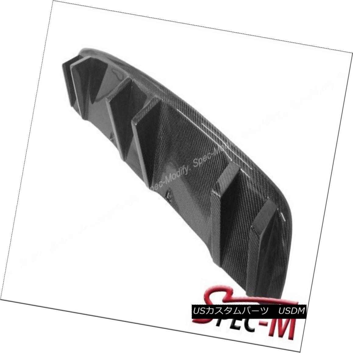 エアロパーツ DP Style Carbon Fiber Bumper Diffuser add-on for BMW 08-13 E71 X6 DPスタイルカーボンファイバーバンパーディフューザーアドオンBMW 08-13 E71 X6