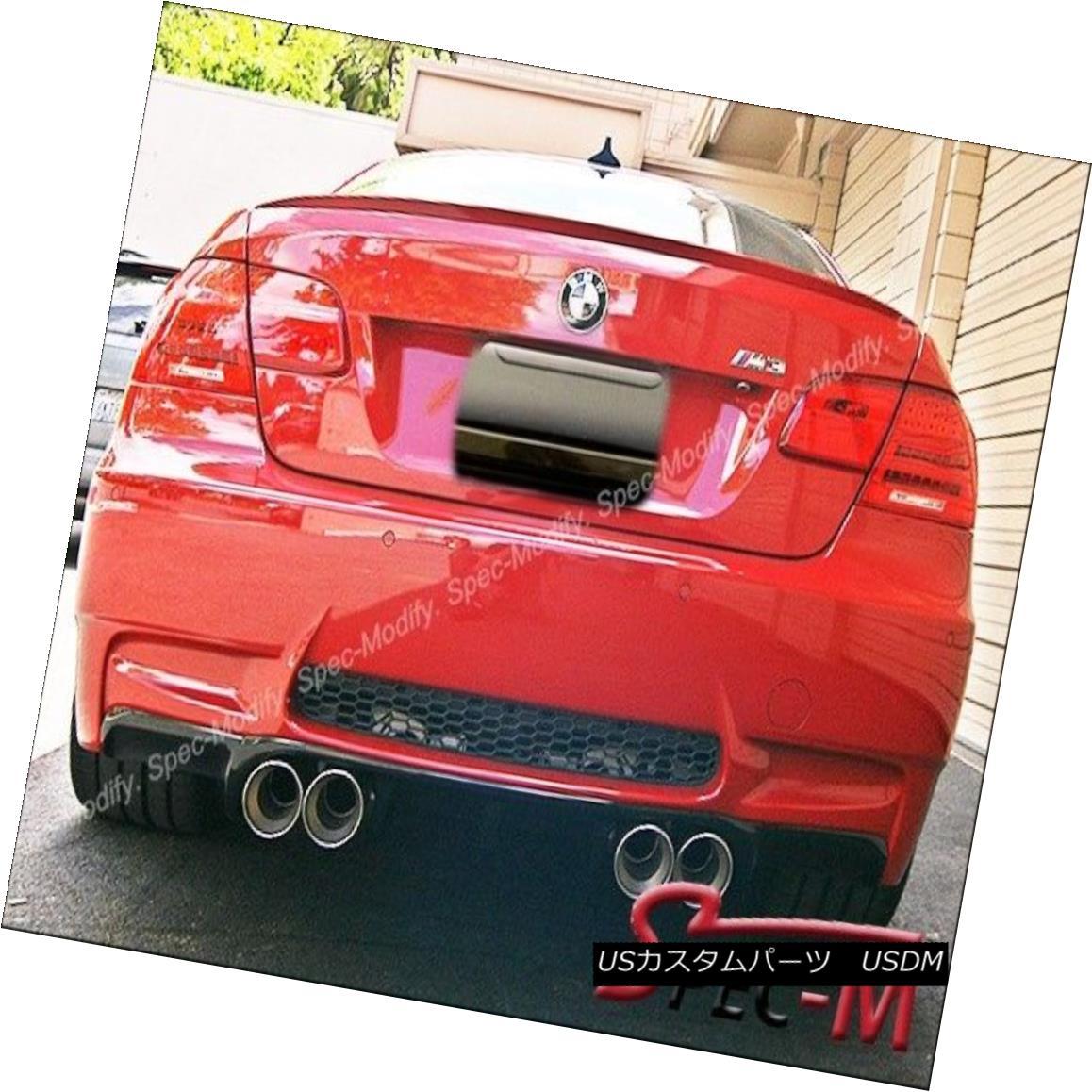 エアロパーツ V-Type Carbon Fiber Bumper Diffuser Add on Lip for BMW 08-13 E92 E93 M3 Only V型カーボンファイバーバンパーディフューザーBMW用リップアドオン08-13 E92 E93 M3のみ