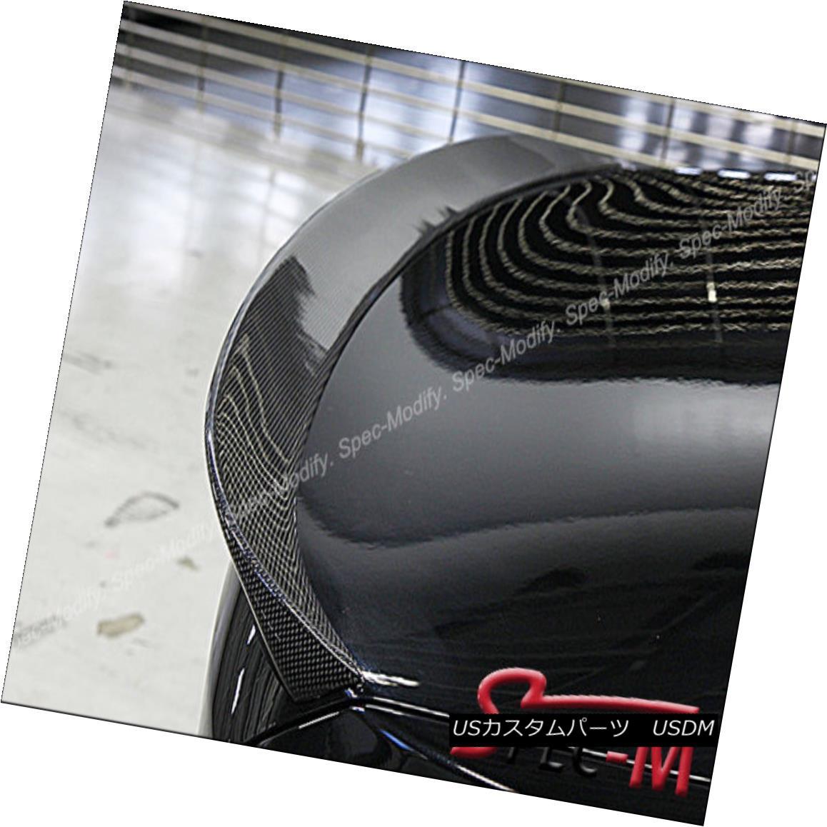 エアロパーツ 3D style Carbon Fiber Trunk Trunk Lip For BMW 2011+ 528i 535i 550i M5 Sedan 3Dスタイルカーボンファイバートランクトランクリップfor BMW 2011+ 528i 535i 550i M5セダン
