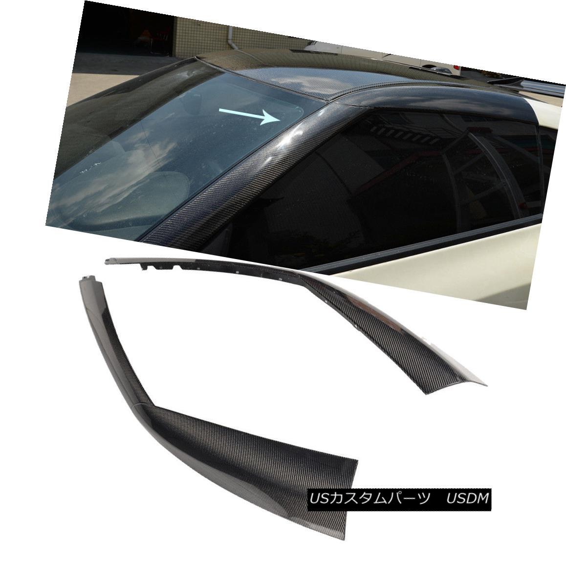エアロパーツ For 2009-2015 Nissan R35 A Pillar Nissan GT-R GTR Car Window Panel Inner Trims 日産R35 Aピラー日産GT-R GTRカーウィンドウパネルインナートリム