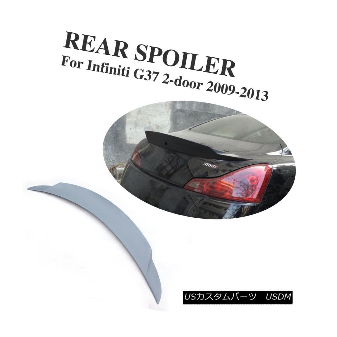 エアロパーツ Rear Bumper Spoiler Lip Wings Fit for Infiniti G Series G37 coupe 2D 2009-2013 インフィニティGシリーズG37クーペ2Dフィットリアフィットバンパースポイラーリップウイング