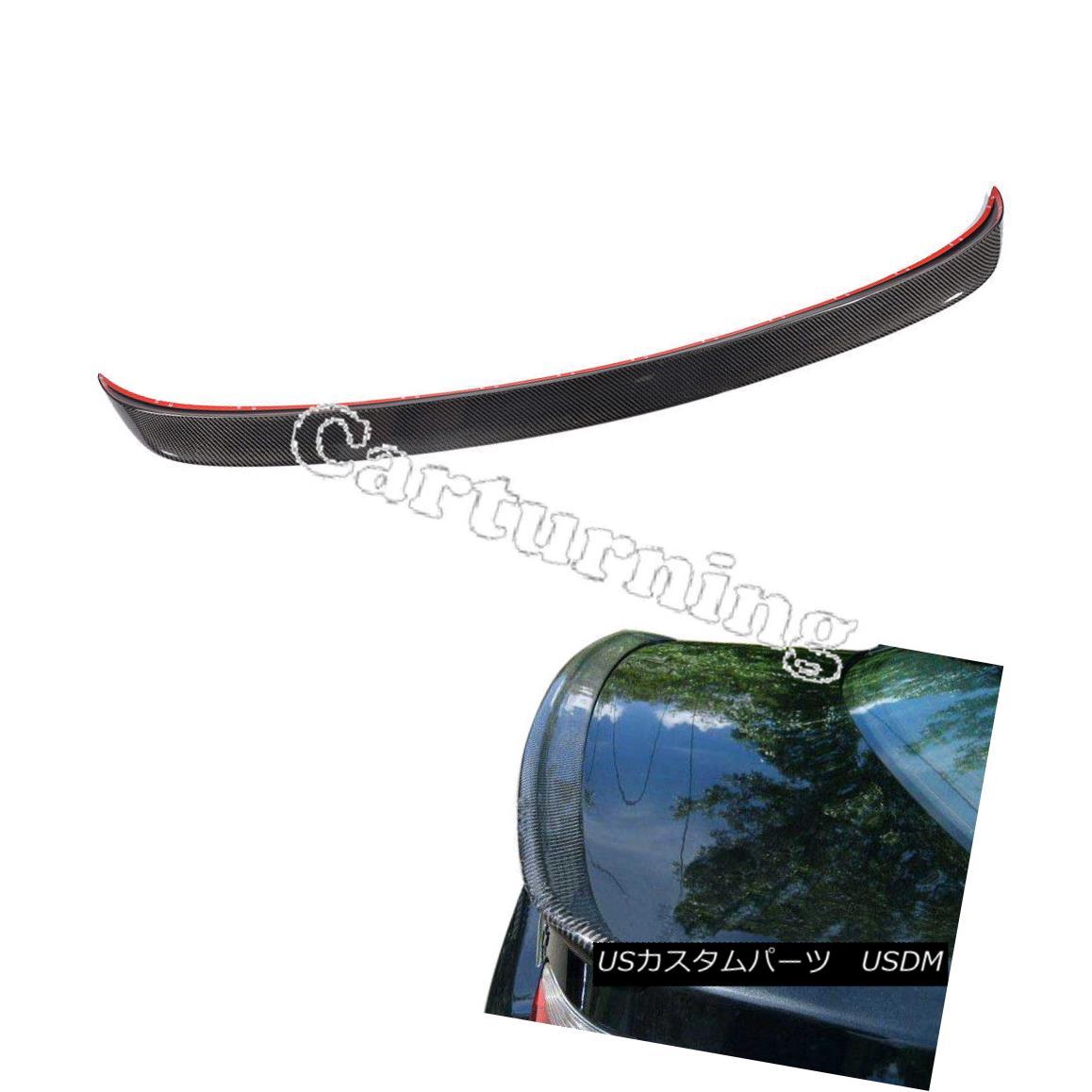 エアロパーツ Carbon Fiber Trunk Lid Spoiler Wings Fit for BMW E60 Sedan M5 Sedan BMW E60セダンM5セダンに適合するカーボンファイバートランクリッドスポイラーウイング