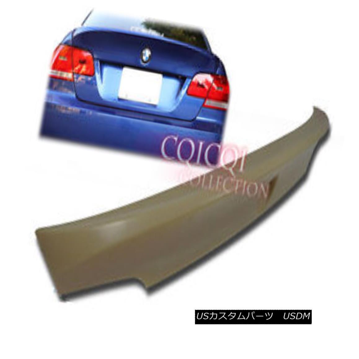 エアロパーツ Unpainted BMW 07~13 E92 3er coupe CSL type trunk spoiler ◎ 未塗装BMW 07?13 E92 3erクーペCSL型トランク・スポイラー?