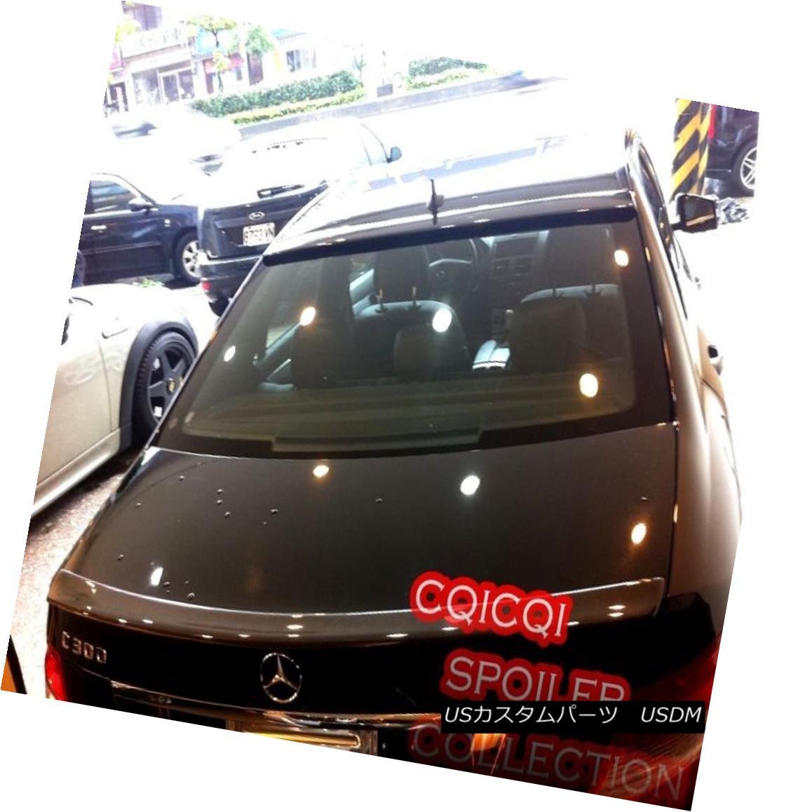 エアロパーツ Carbon M-BENZ 08~14 W204 C class Sedan OEM type roof + AMG type trunk spoiler ◎ カーボンM-BENZ 08?14 W204 CクラスセダンOEMタイプルーフ+ AMGタイプトランク・スポイラー?