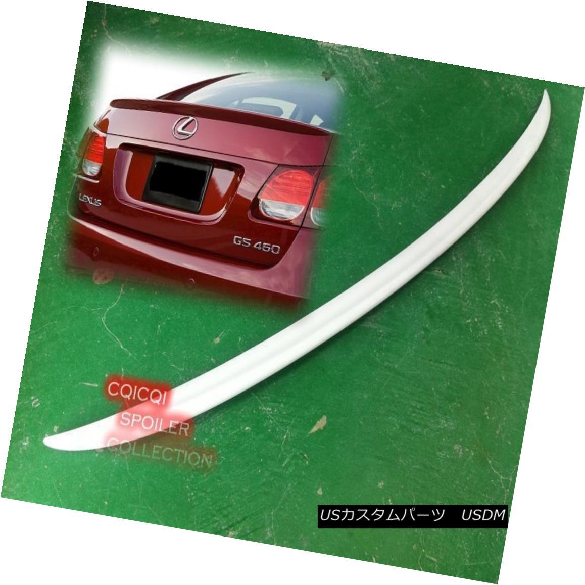 エアロパーツ Painted 06~10 Lexus GS300 GS350 GS400 GS430 GS460 OEM type Trunk Spoiler ◎ 塗装済み06?10レクサスGS300 GS350 GS400 GS430 GS460 OEMタイプのトランク・スポイラー?