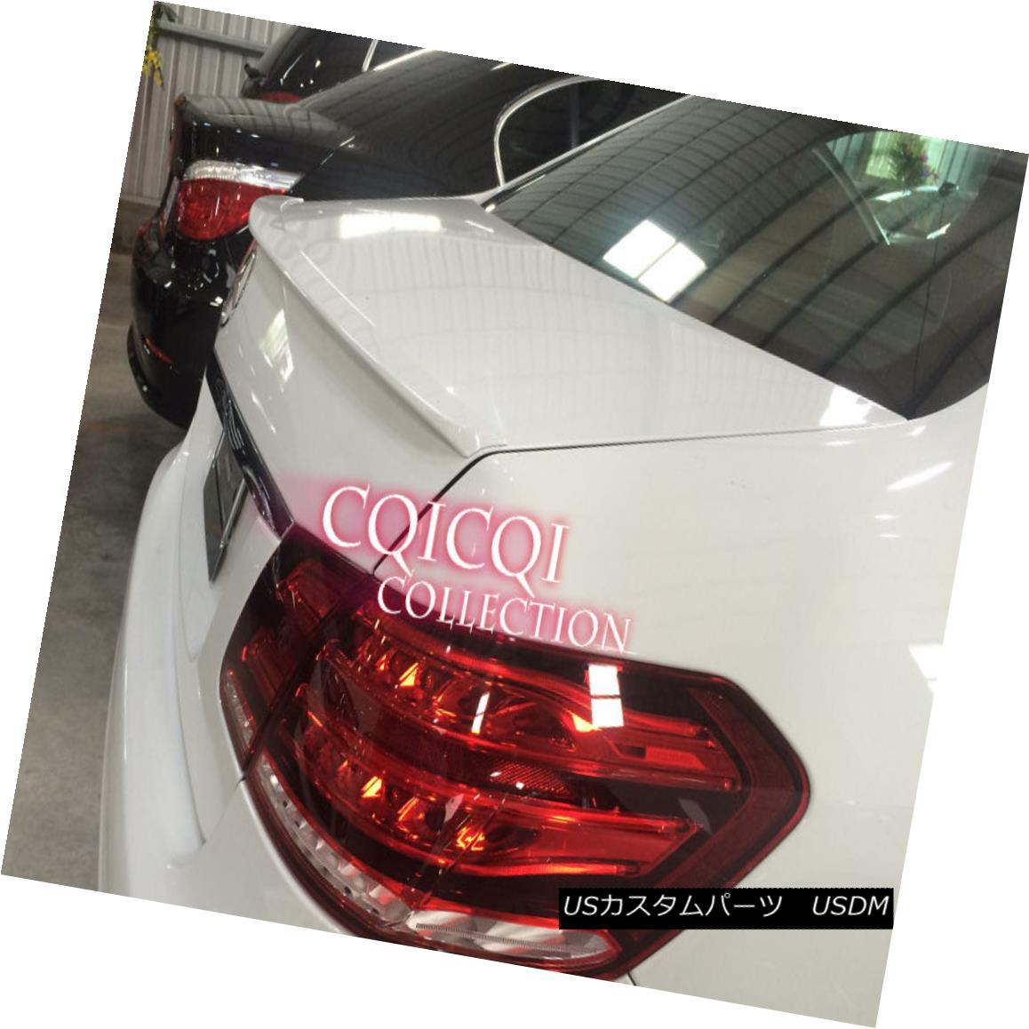 エアロパーツ Painted M-BENZ 10~16 W212 E class Sedan AMG type trunk spoiler all color ◎ ペイントされたM-BENZ 10?16 W212 EクラスセダンAMG型トランク・スポイラー全色?